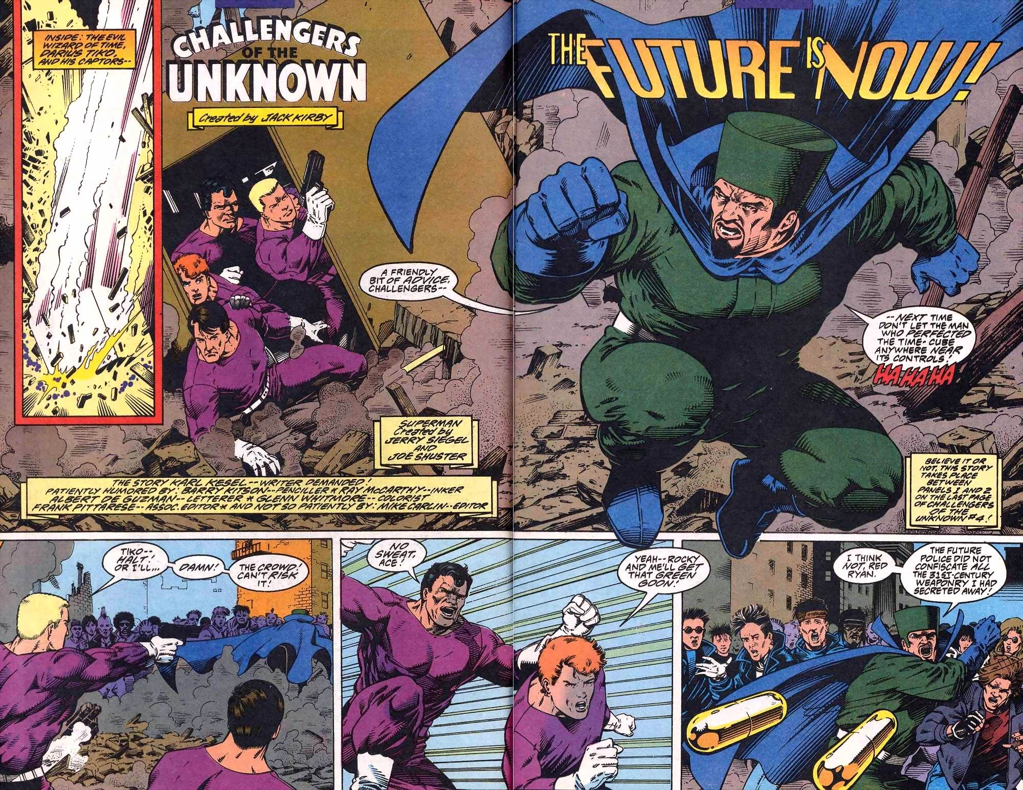 Read online Adventures of Superman (1987) comic -  Issue #508 - 4