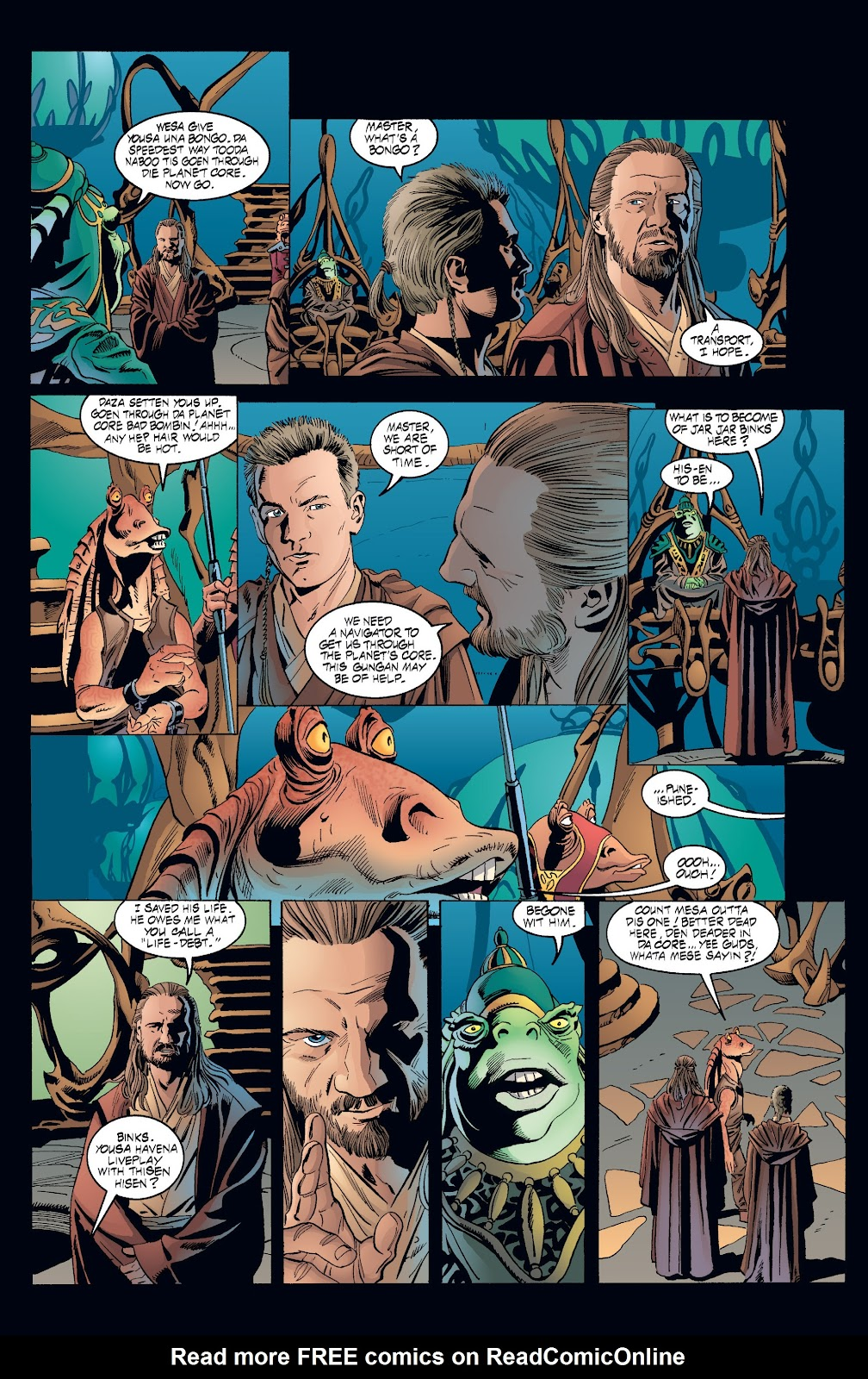 Read online Star Wars Legends: Rise of the Sith - Epic Collection comic -  Issue # TPB 2 (Part 3) - 52