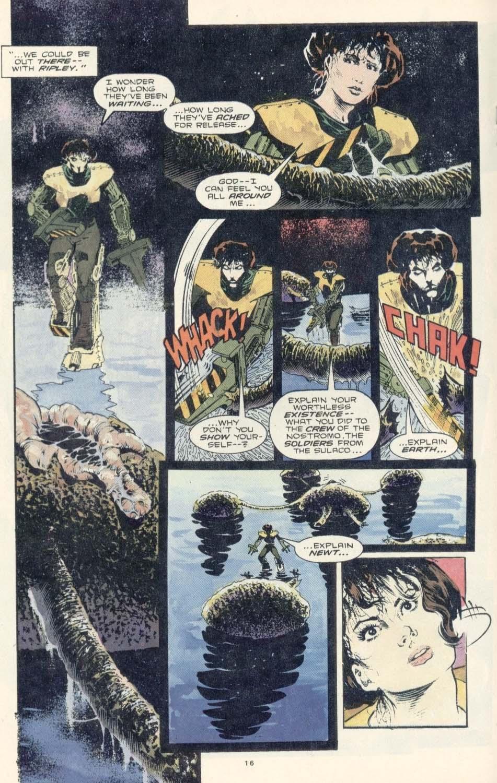 Read online Aliens: Earth War comic -  Issue #3 - 18