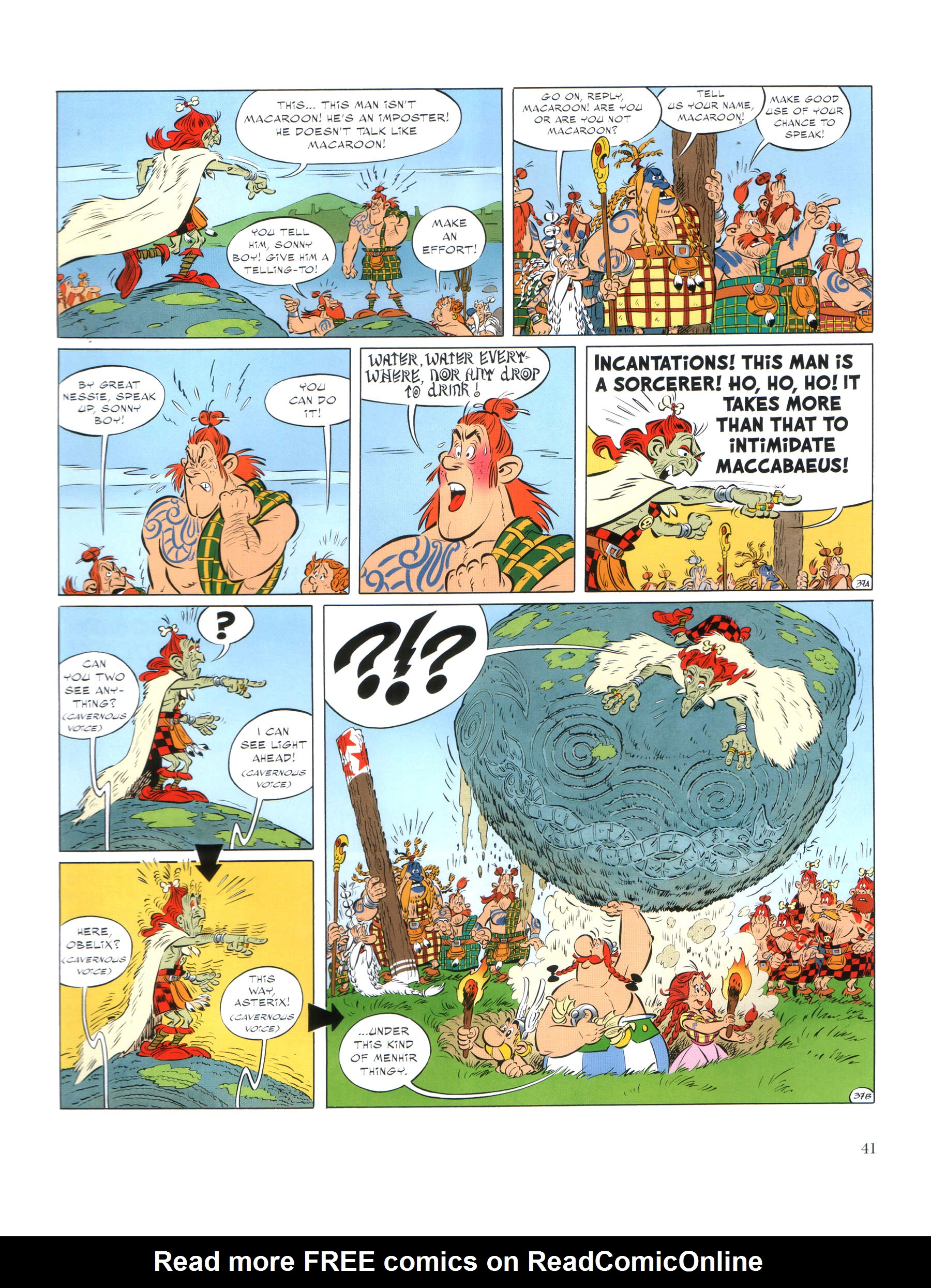Read online Asterix comic -  Issue #35 - 42