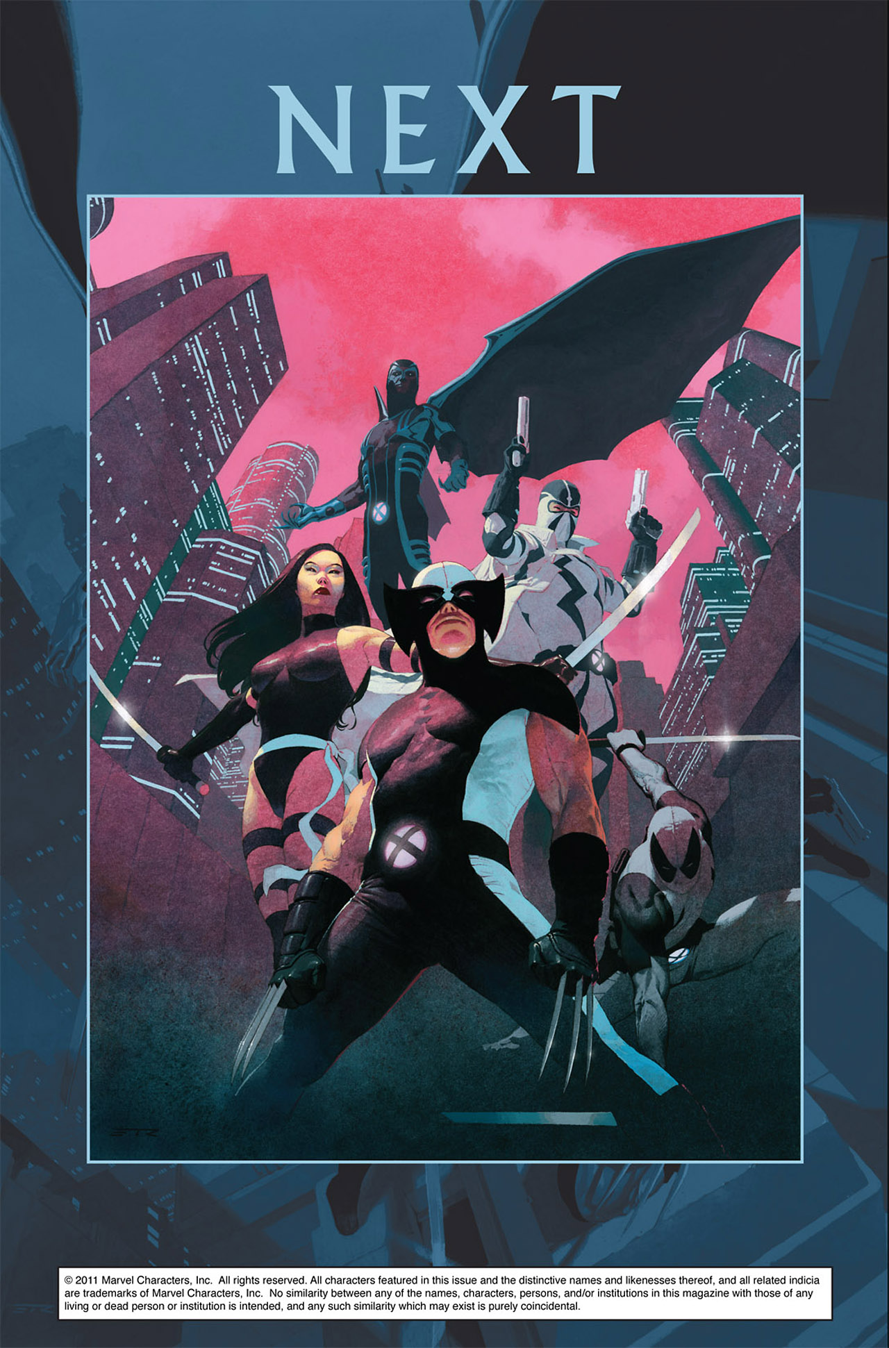 Read online Uncanny X-Force (2010) comic -  Issue #1 - 32