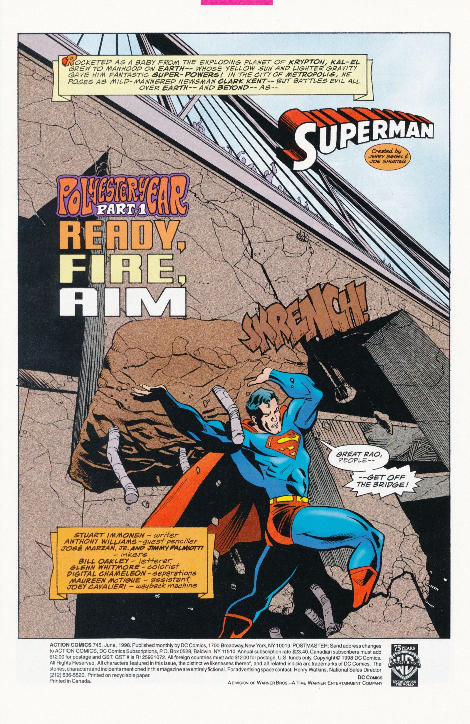 Action Comics (1938) 745 Page 2