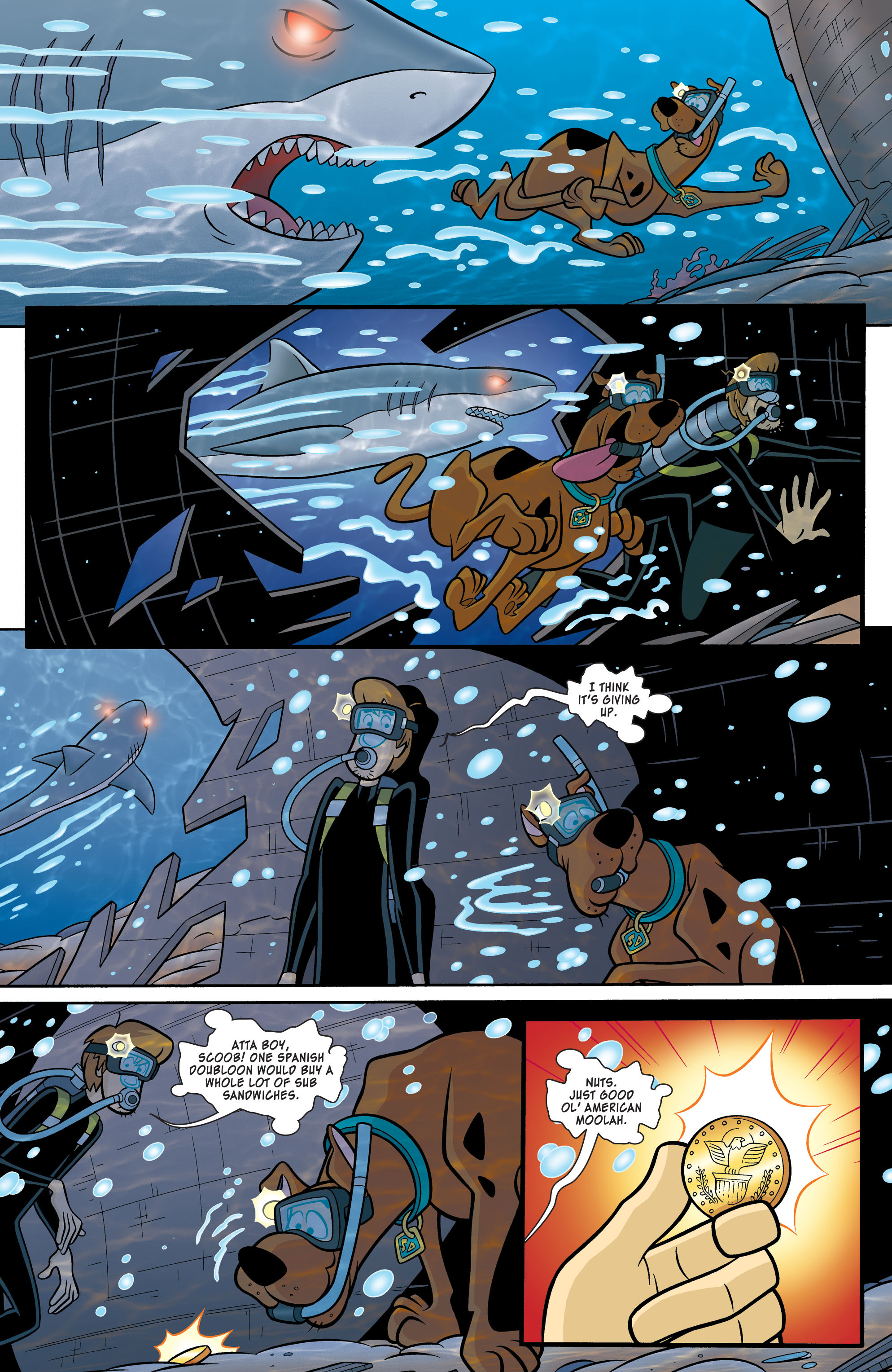 Read online Scooby-Doo: Where Are You? comic -  Issue #54 - 8