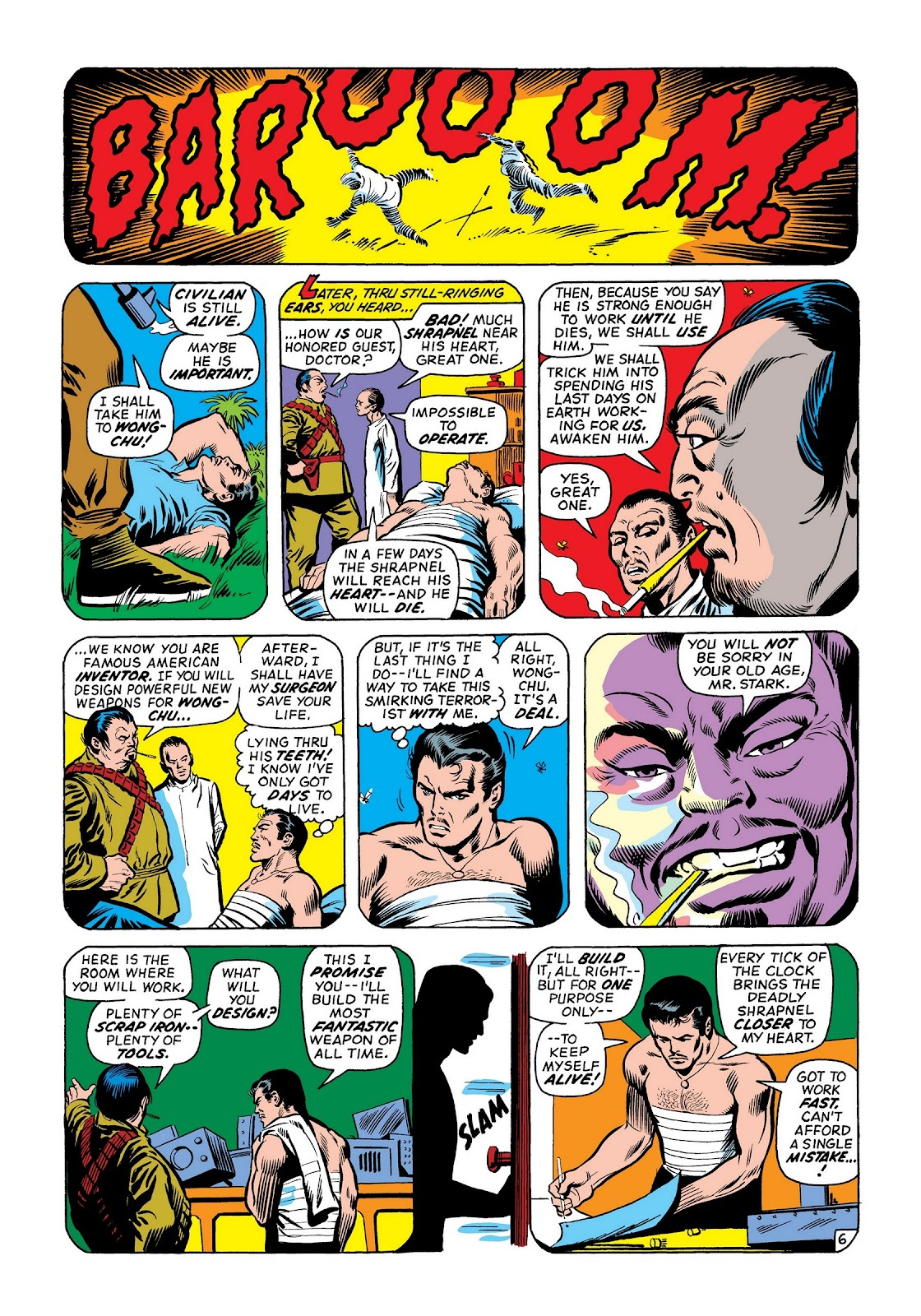 Read online Marvel Masterworks: The Invincible Iron Man comic -  Issue # TPB 8 (Part 2) - 72