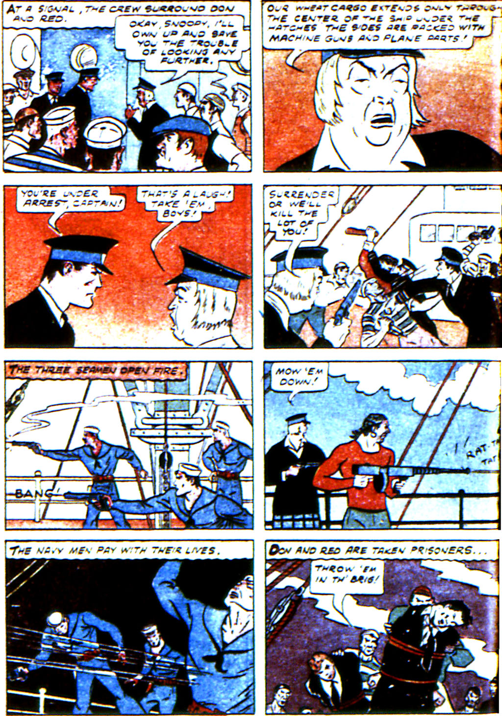 Read online Adventure Comics (1938) comic -  Issue #45 - 56