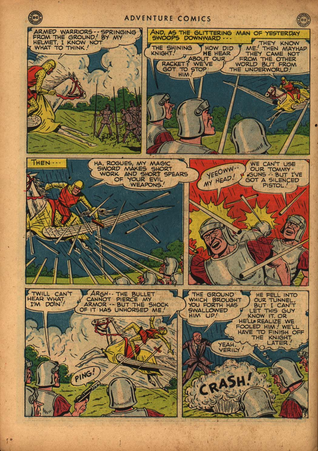 Read online Adventure Comics (1938) comic -  Issue #109 - 38