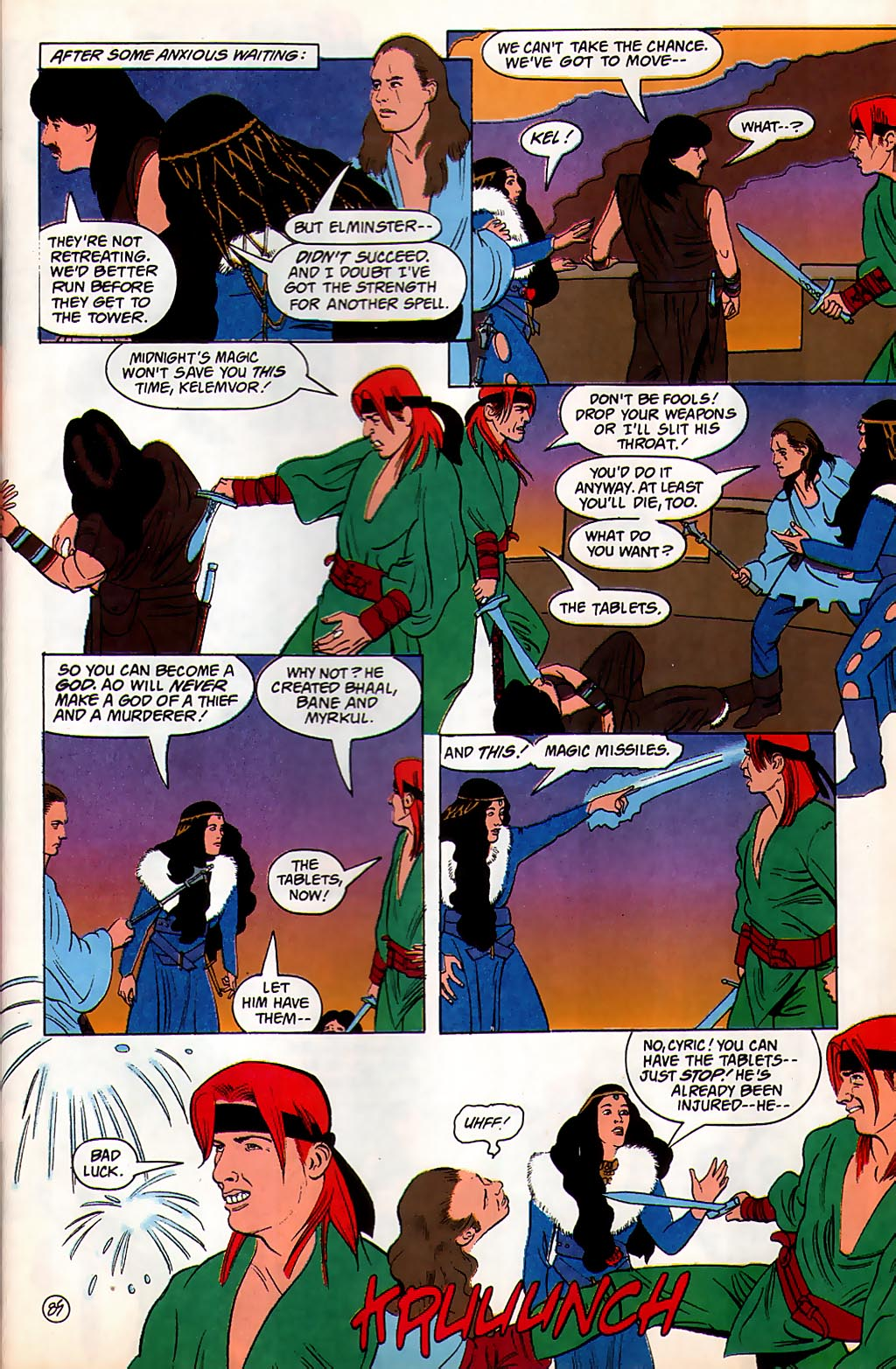 Read online Avatar comic -  Issue #3 - 86