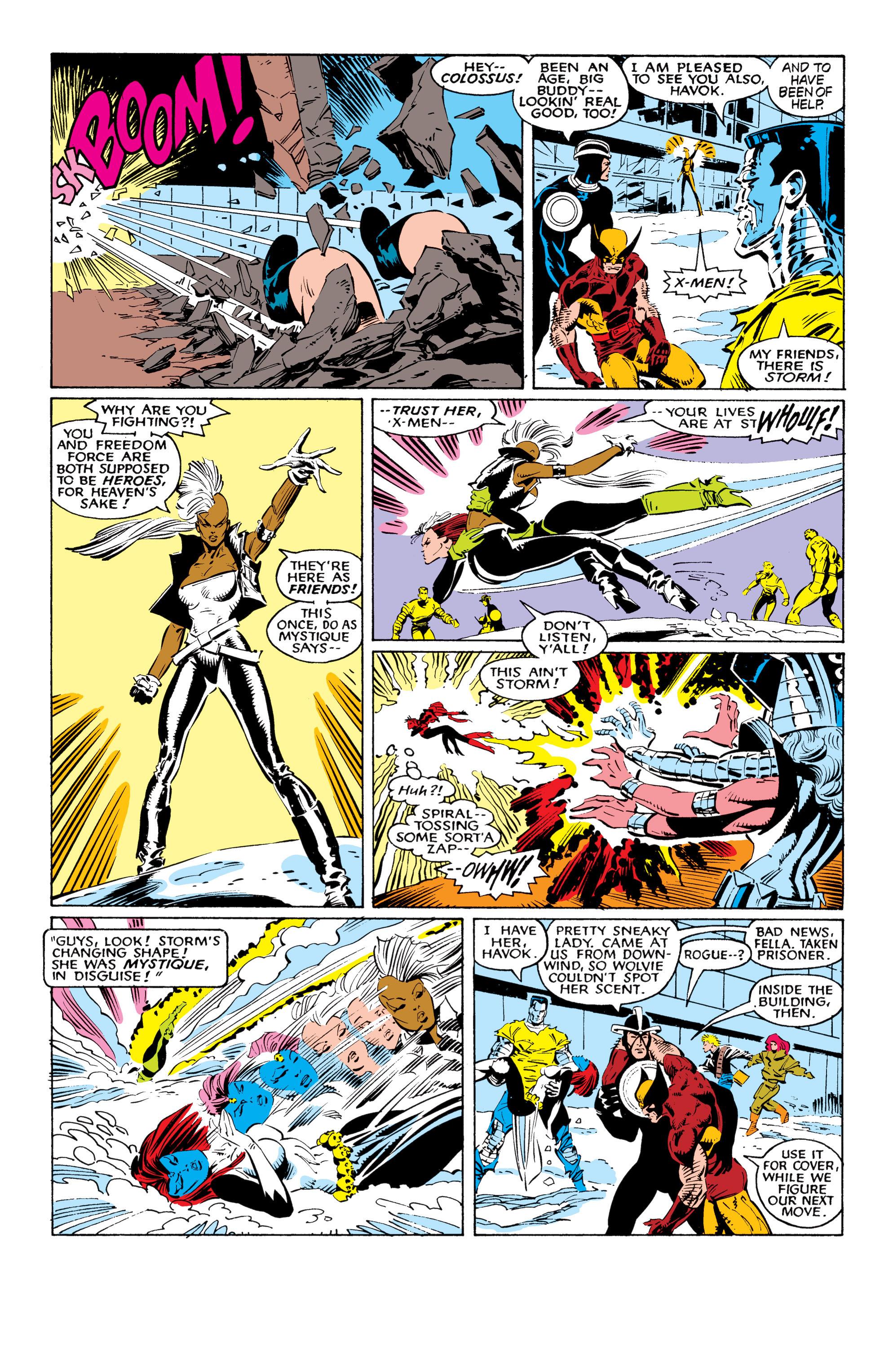 Read online Uncanny X-Men (1963) comic -  Issue #225 - 24