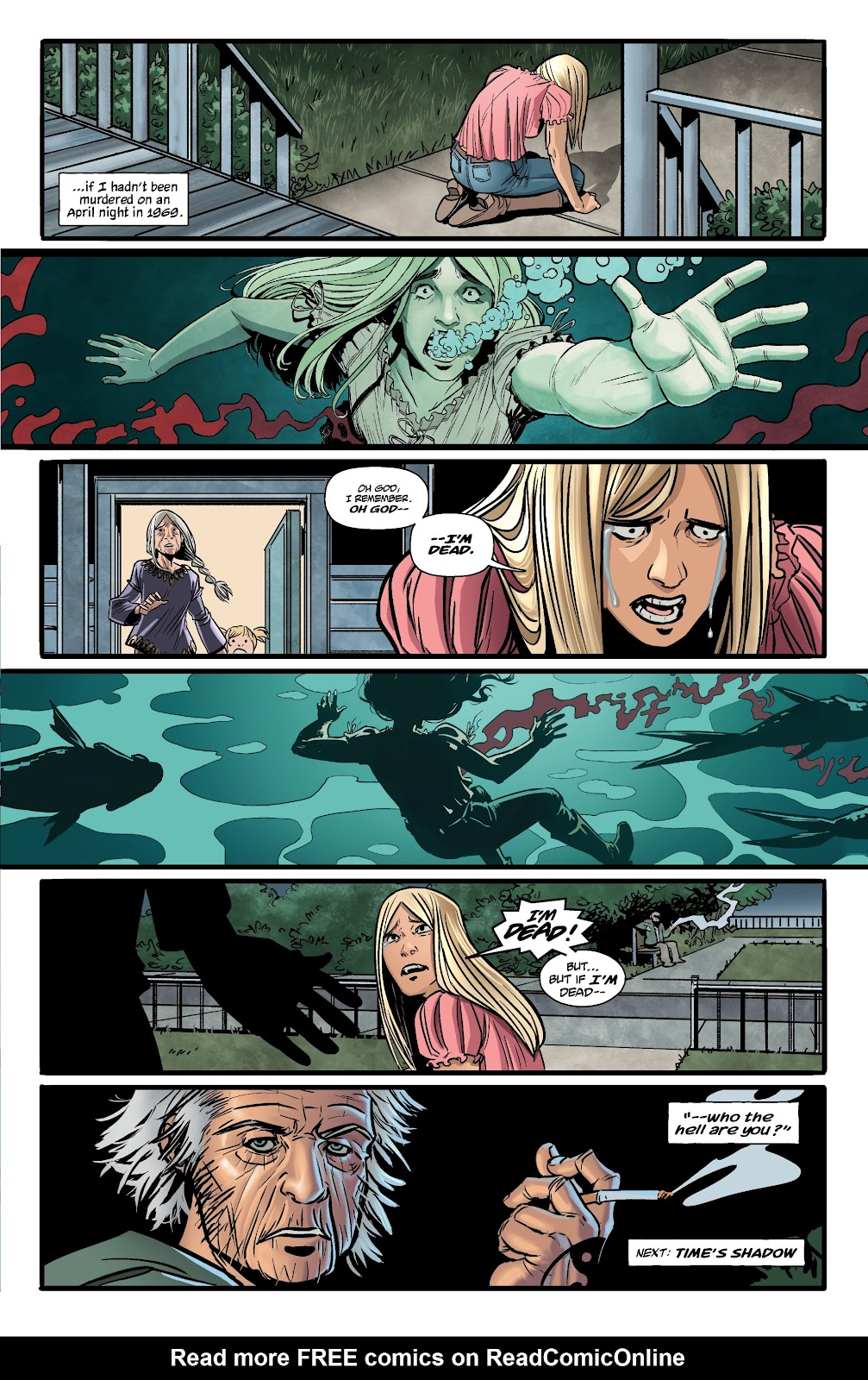 Read online The Girl In The Bay comic -  Issue #1 - 27