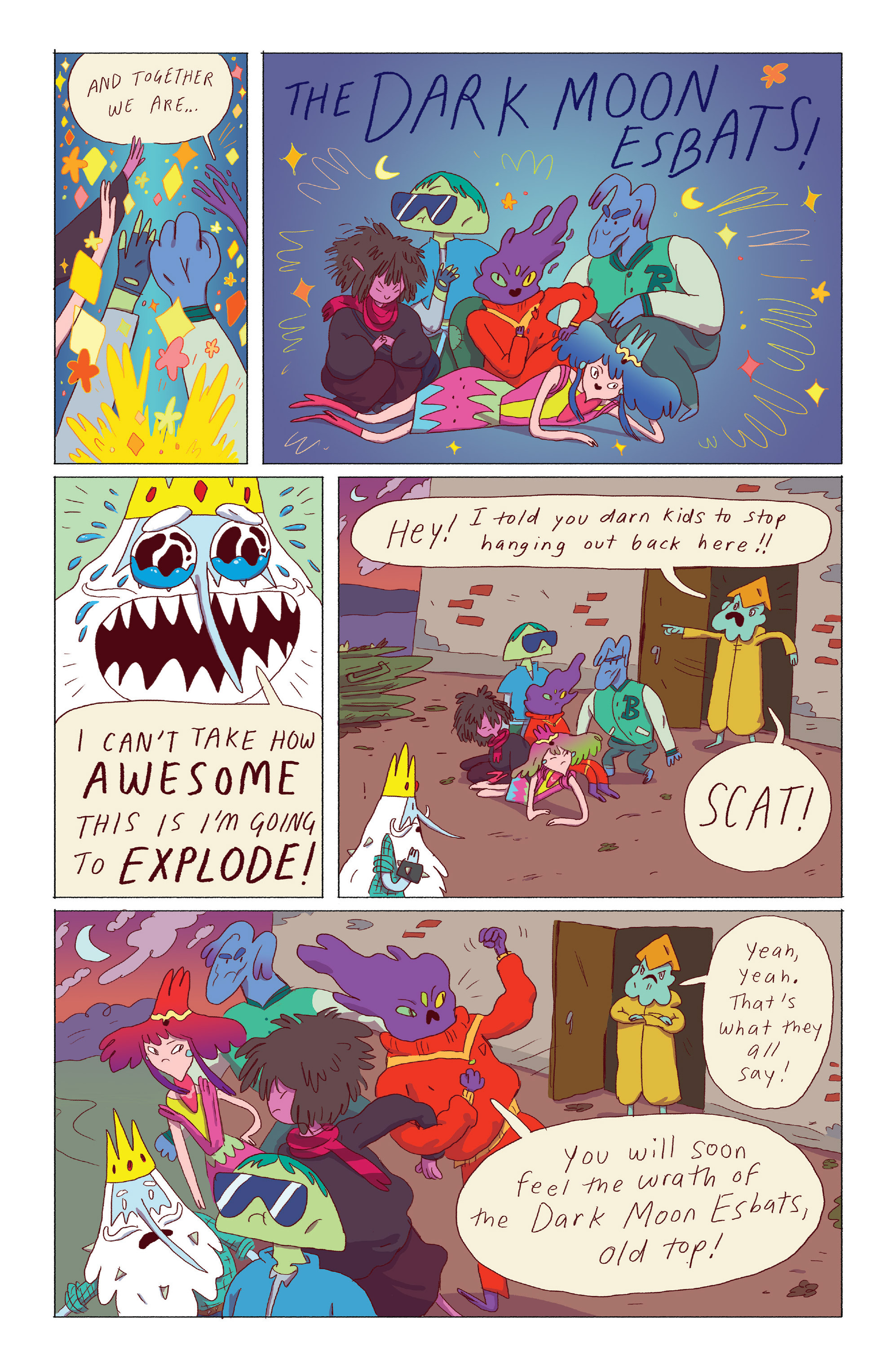Read online Adventure Time: Ice King comic -  Issue #3 - 7