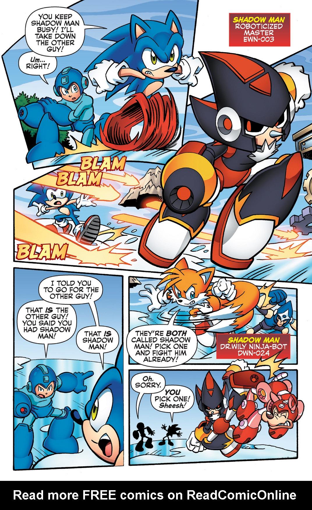 Read online Sonic Mega Man Worlds Collide comic -  Issue # Vol 2 - 63