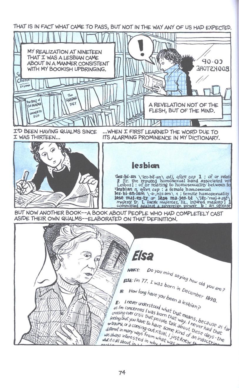 Read online Fun Home: A Family Tragicomic comic -  Issue # TPB - 81