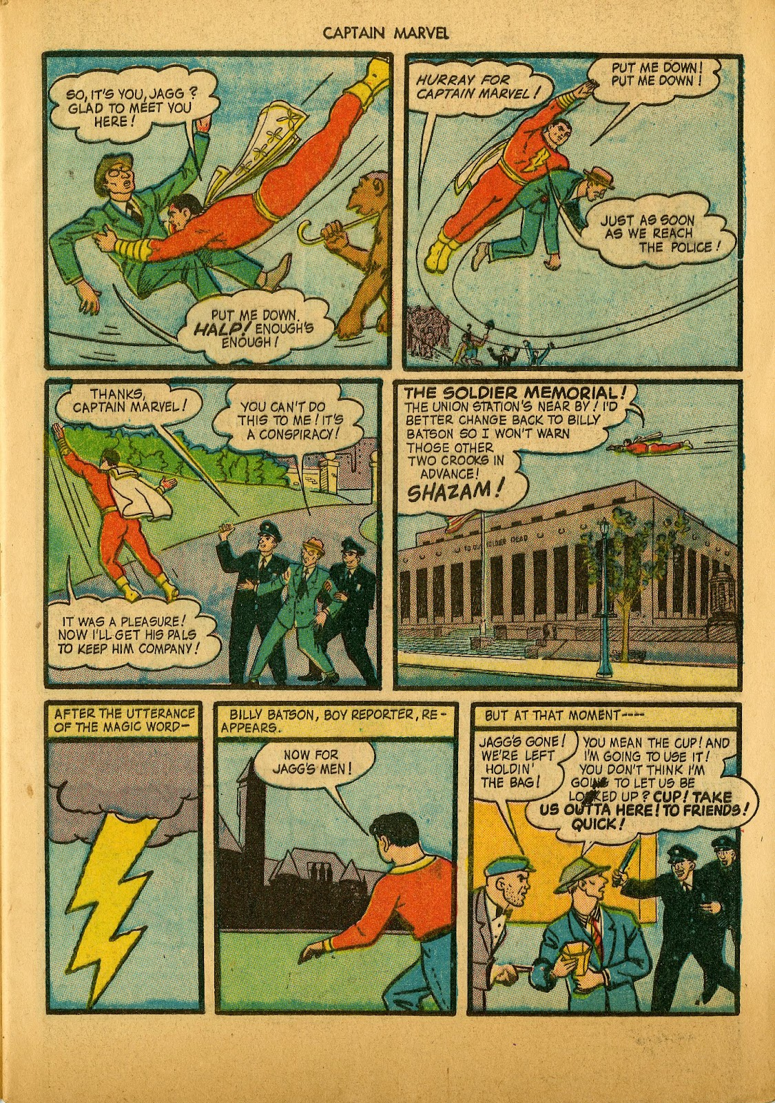 Captain Marvel Adventures issue 36 - Page 9