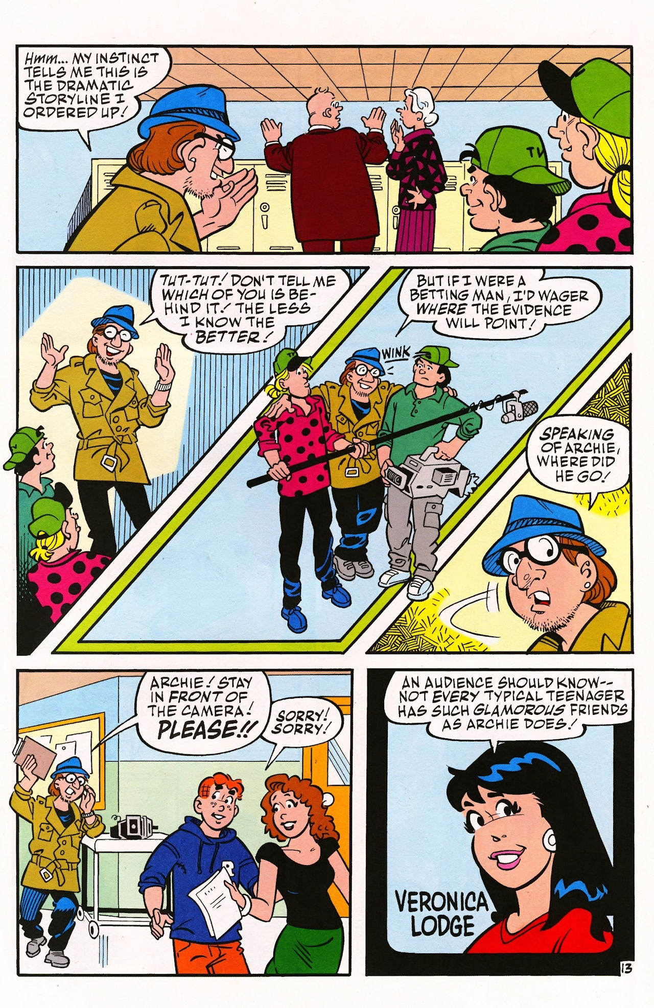 Read online Archie (1960) comic -  Issue #597 - 19