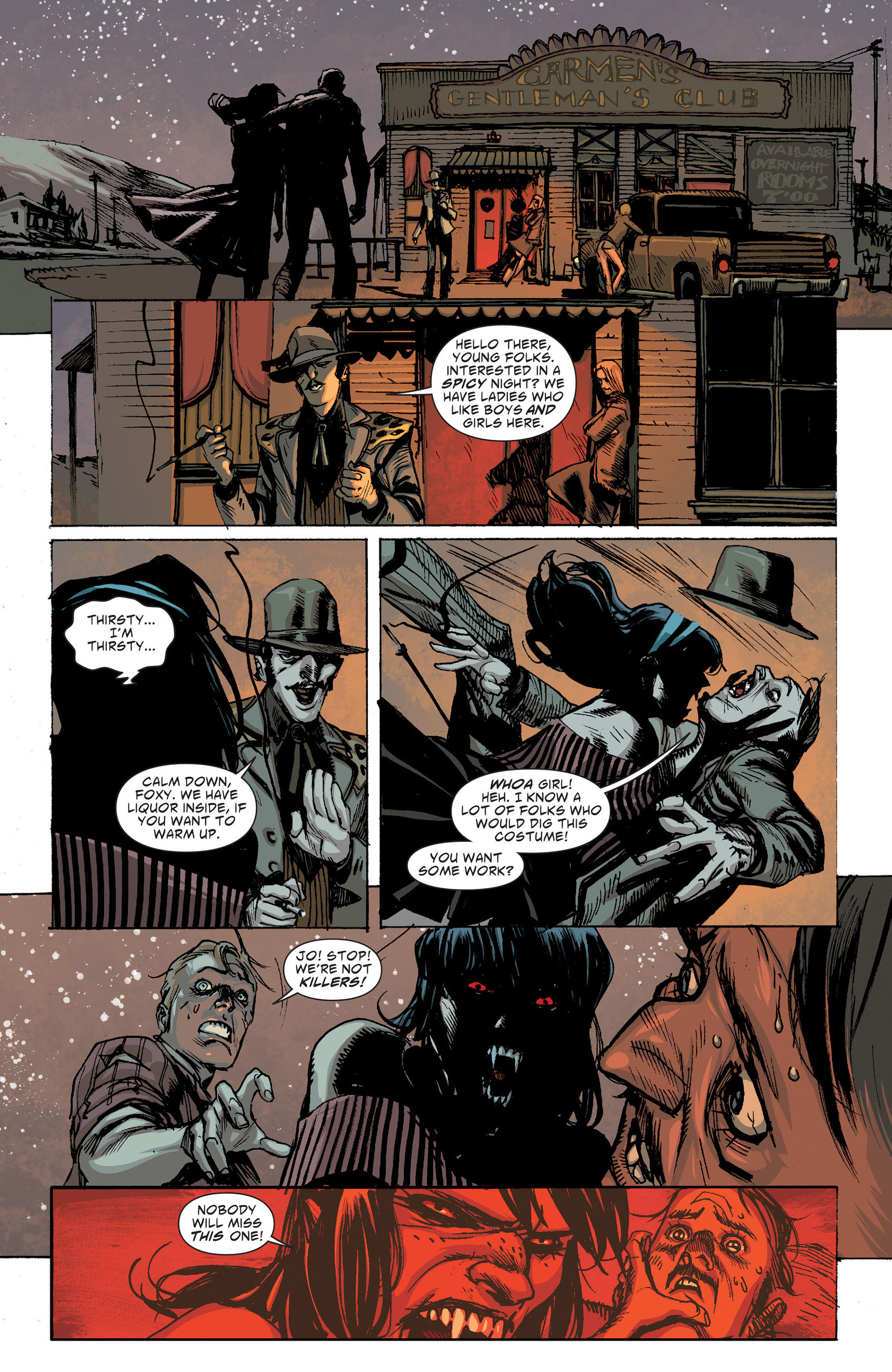 Read online American Vampire: The Long Road To Hell comic -  Issue # Full - 17