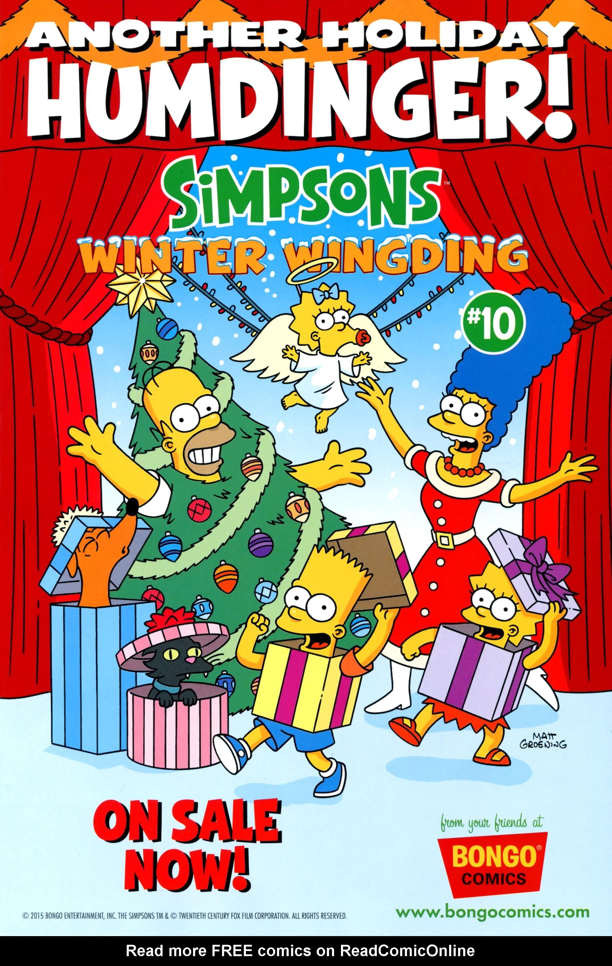 Read online Simpsons One-Shot Wonders: Grampa comic -  Issue # Full - 25