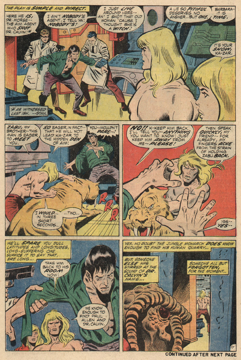 Read online Astonishing Tales (1970) comic -  Issue #13 - 12