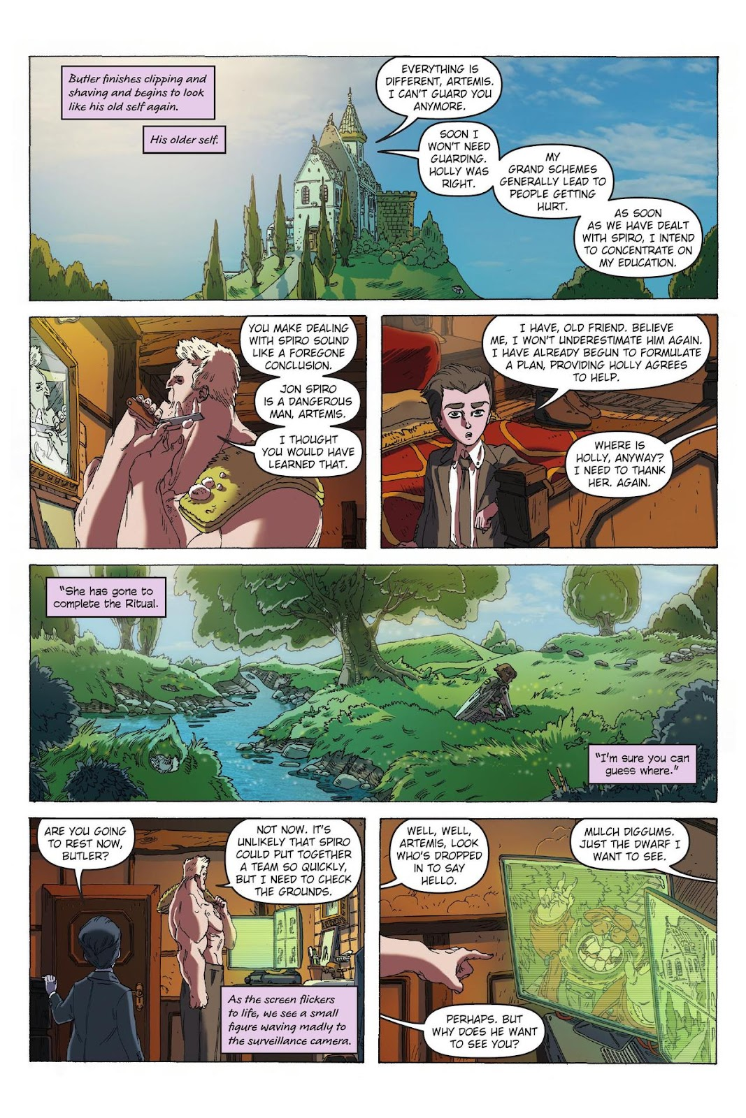 Artemis Fowl: The Eternity Code issue TPB - Page 60
