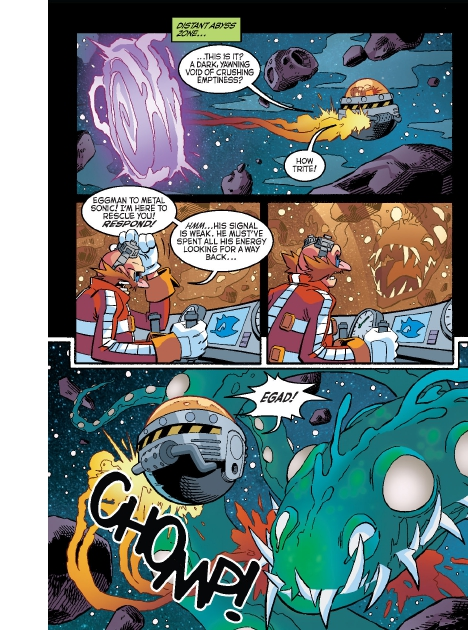Read online Sonic Comics Spectacular: Speed of Sound comic -  Issue # Full - 137