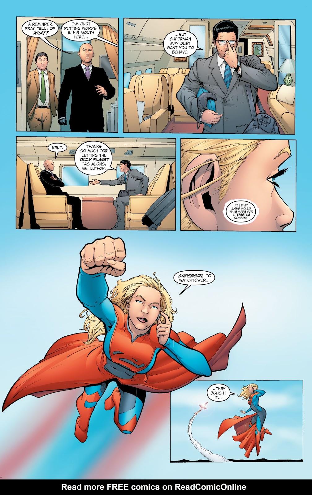Read online Smallville Season 11 [II] comic -  Issue # TPB 6 - 68