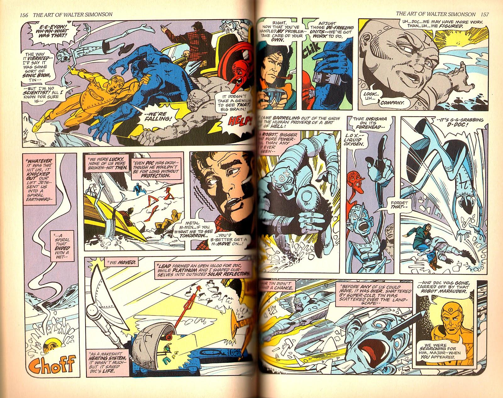 Read online The Art of Walter Simonson comic -  Issue # TPB - 80