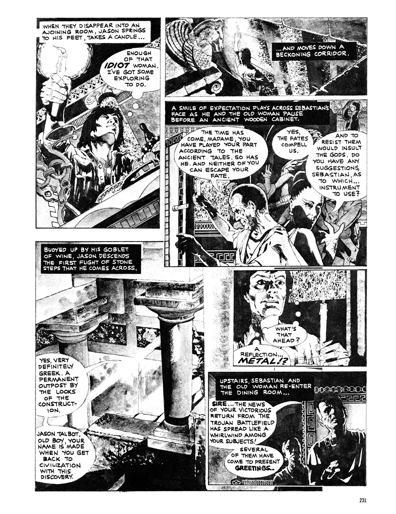 Read online Eerie Archives comic -  Issue # TPB 10 - 232