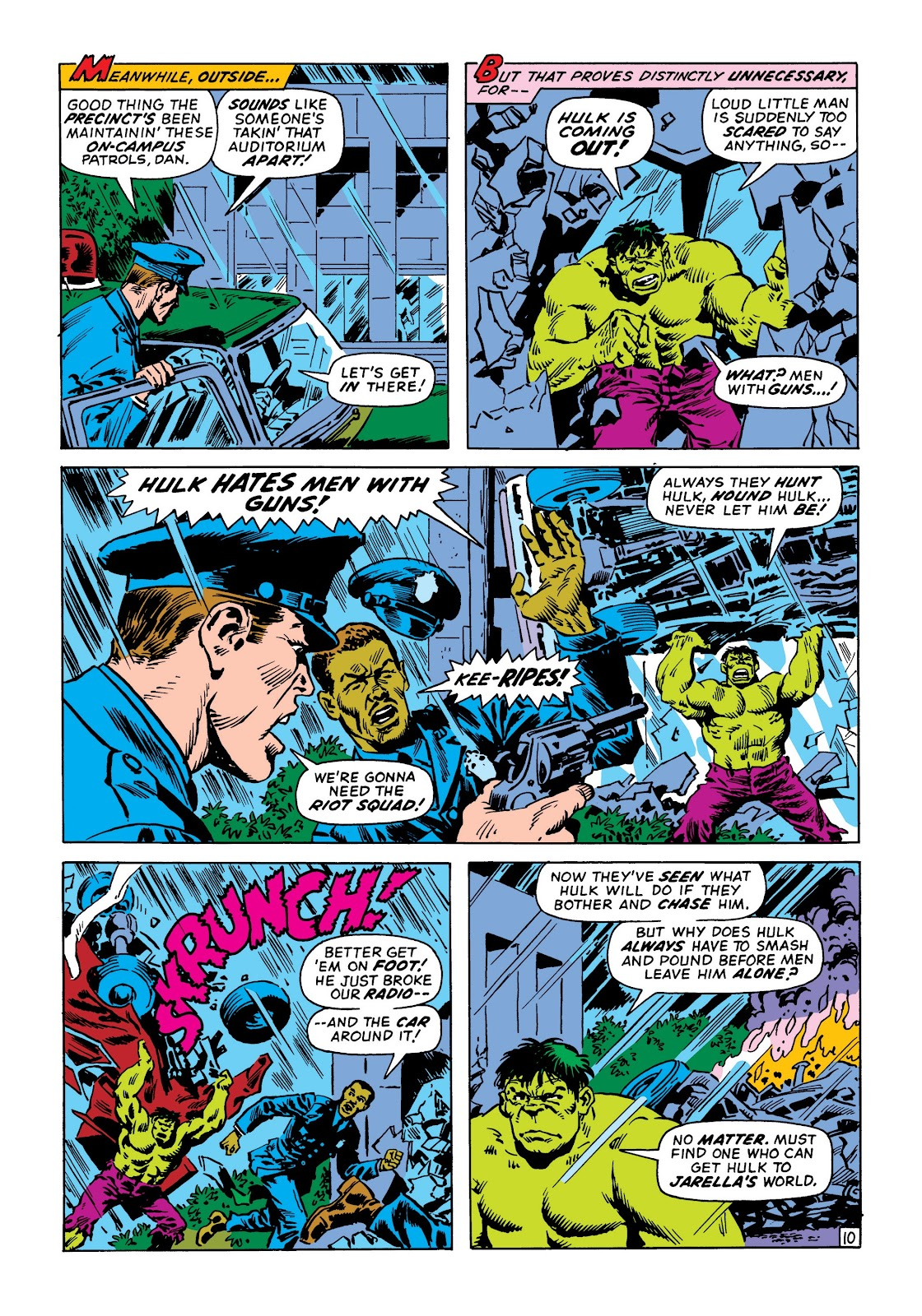 Read online Marvel Masterworks: The Incredible Hulk comic -  Issue # TPB 8 (Part 2) - 62