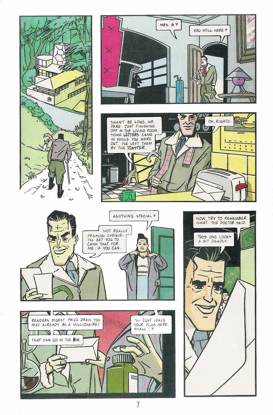 Read online Dare comic -  Issue #1 - 9