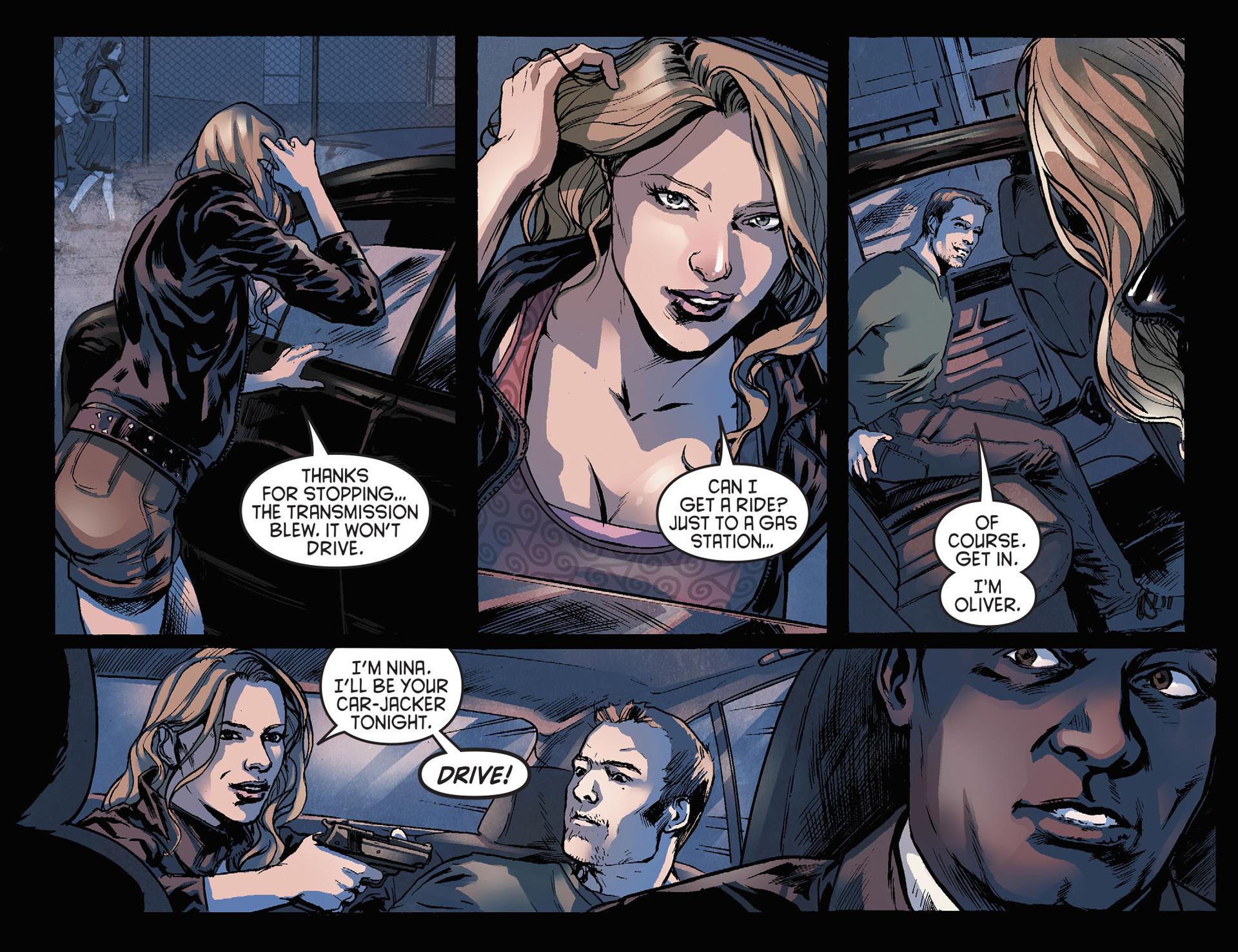 Read online Arrow [II] comic -  Issue #21 - 4