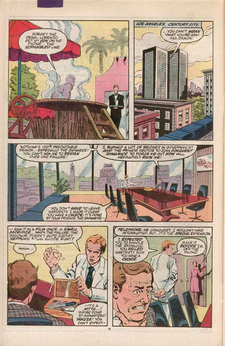 Read online Justice (1986) comic -  Issue #1 - 7