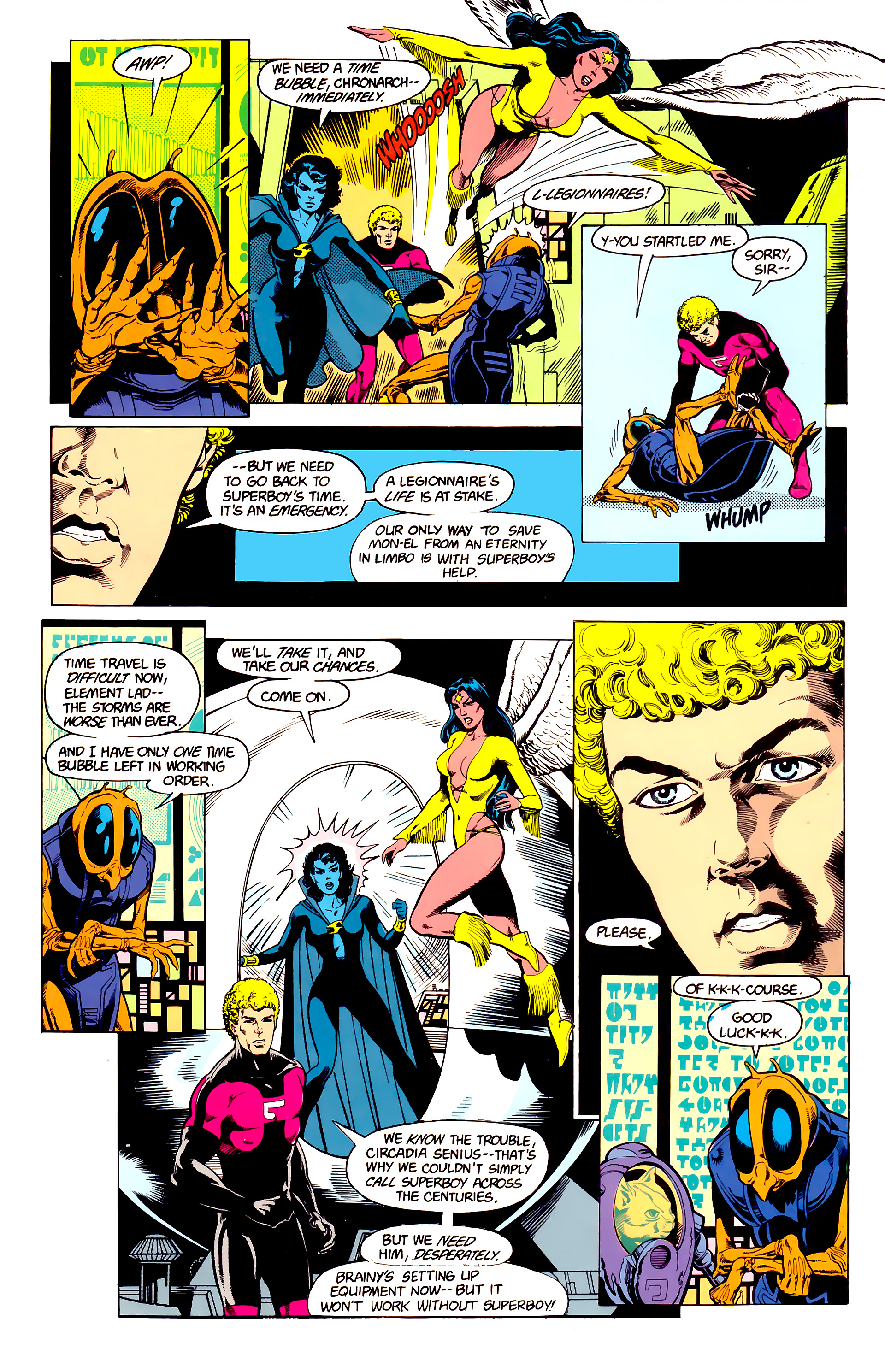 Legion of Super-Heroes (1984) 23 Page 13