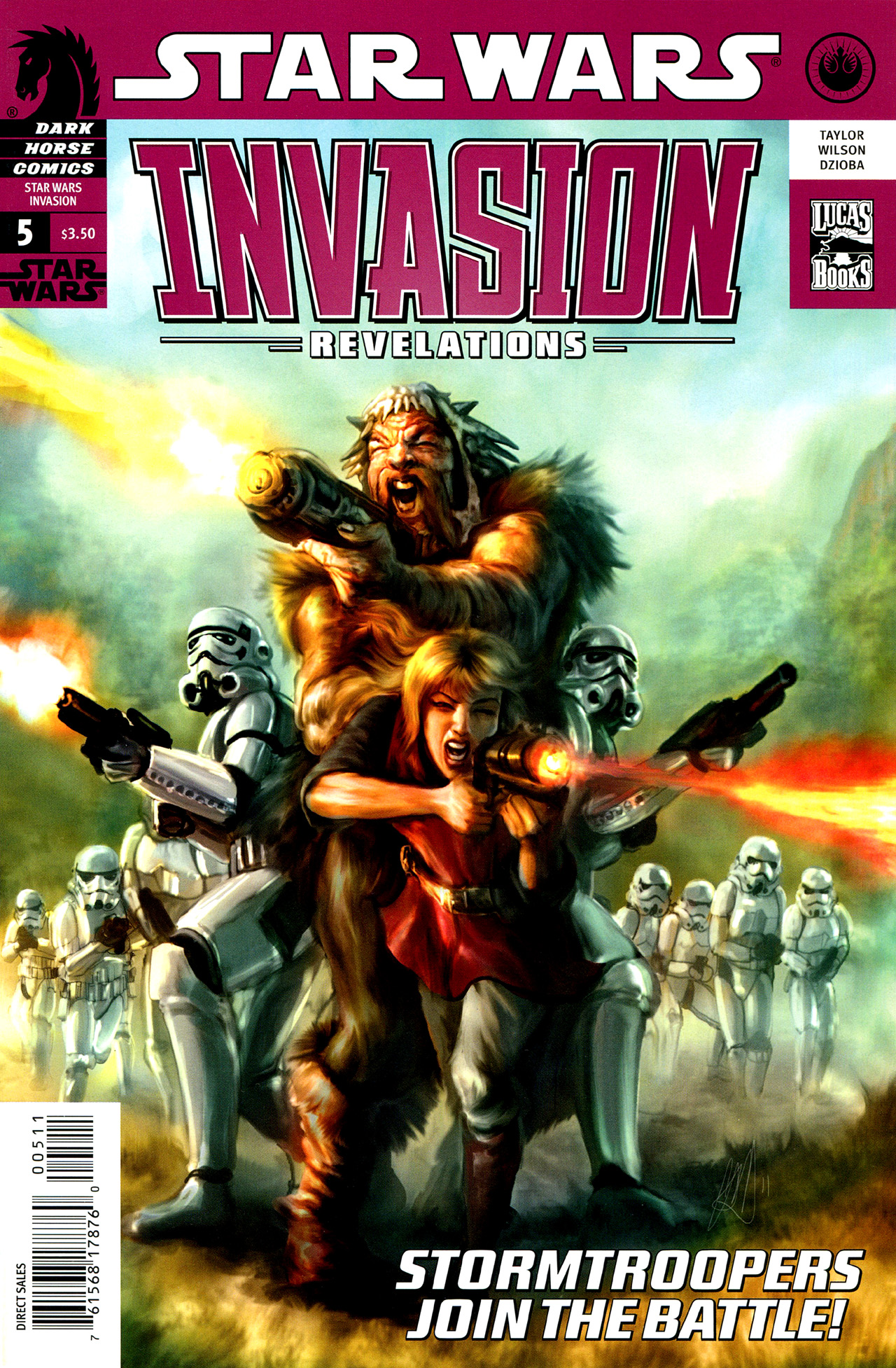 Star Wars: Invasion - Revelations 5 Page 1