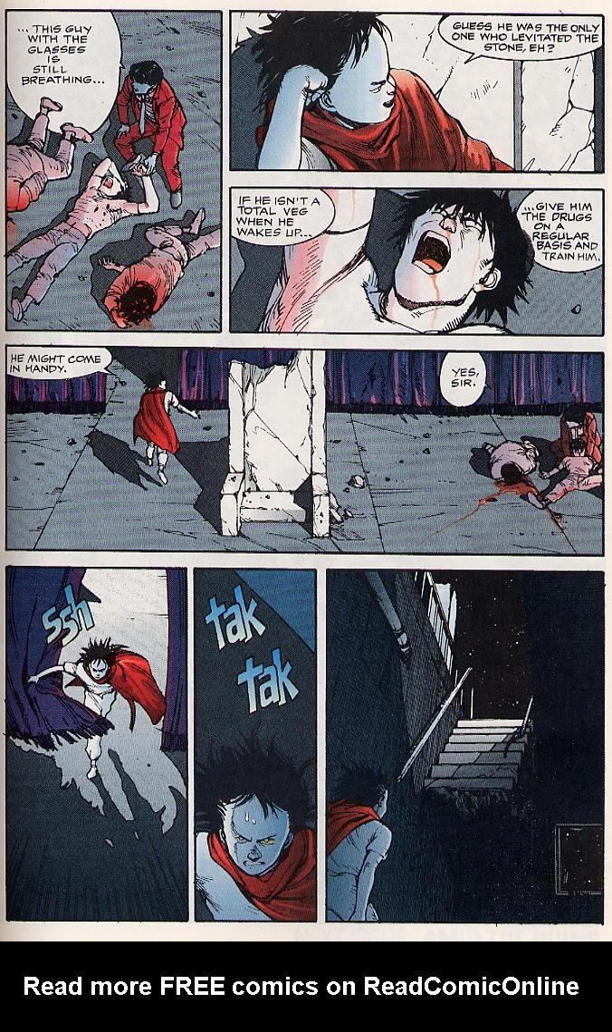 Read online Akira comic -  Issue #17 - 58