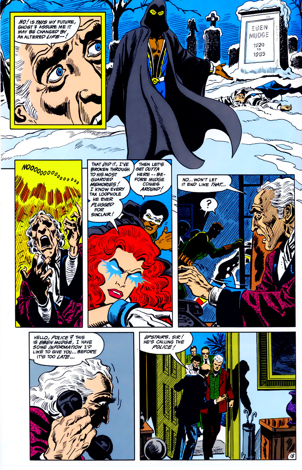 Read online Adventures of the Outsiders comic -  Issue #43 - 19