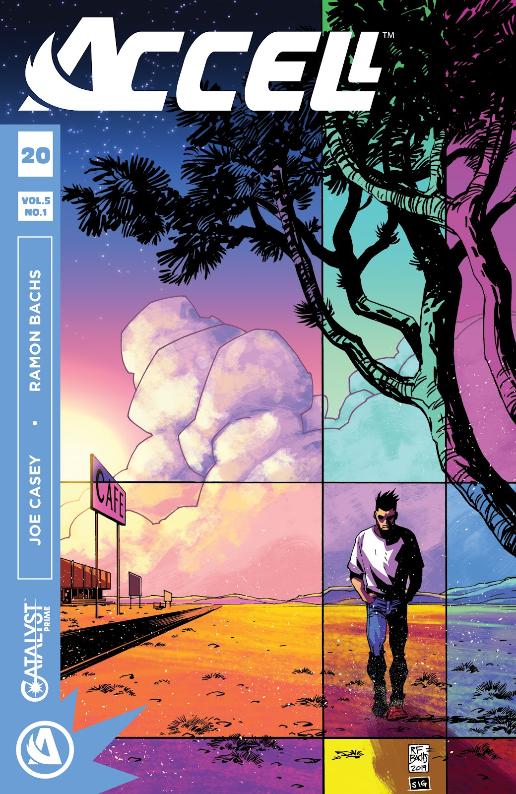 Read online Accell comic -  Issue #20 - 1