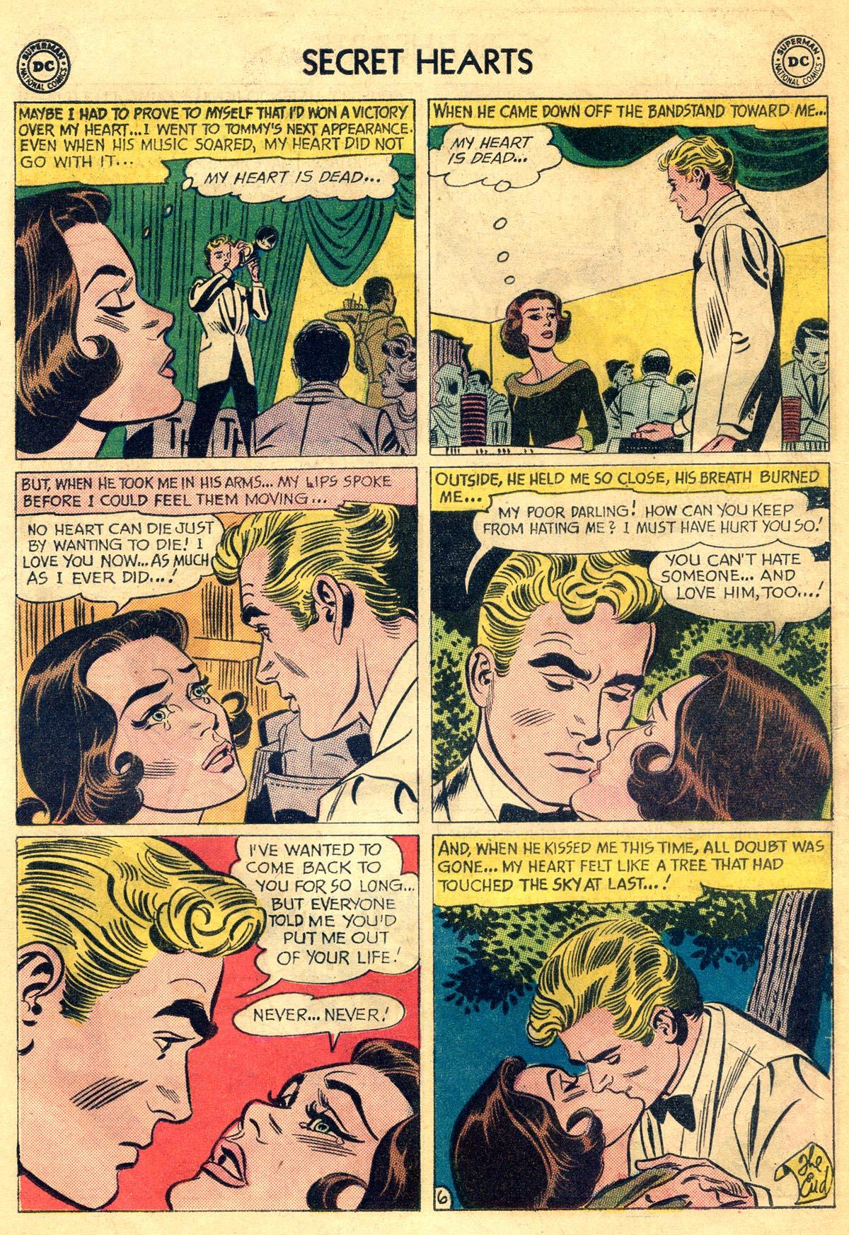Read online Secret Hearts comic -  Issue #81 - 24