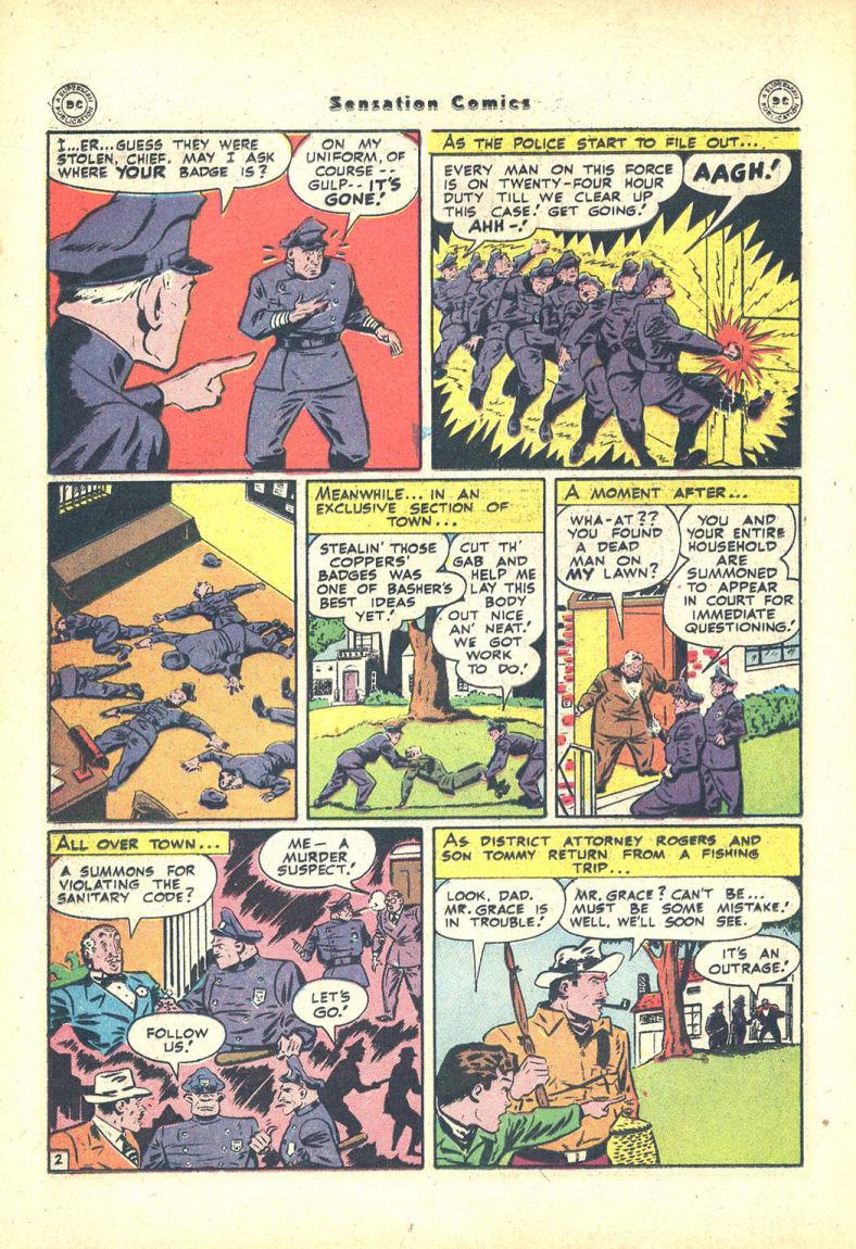 Read online Sensation (Mystery) Comics comic -  Issue #68 - 18