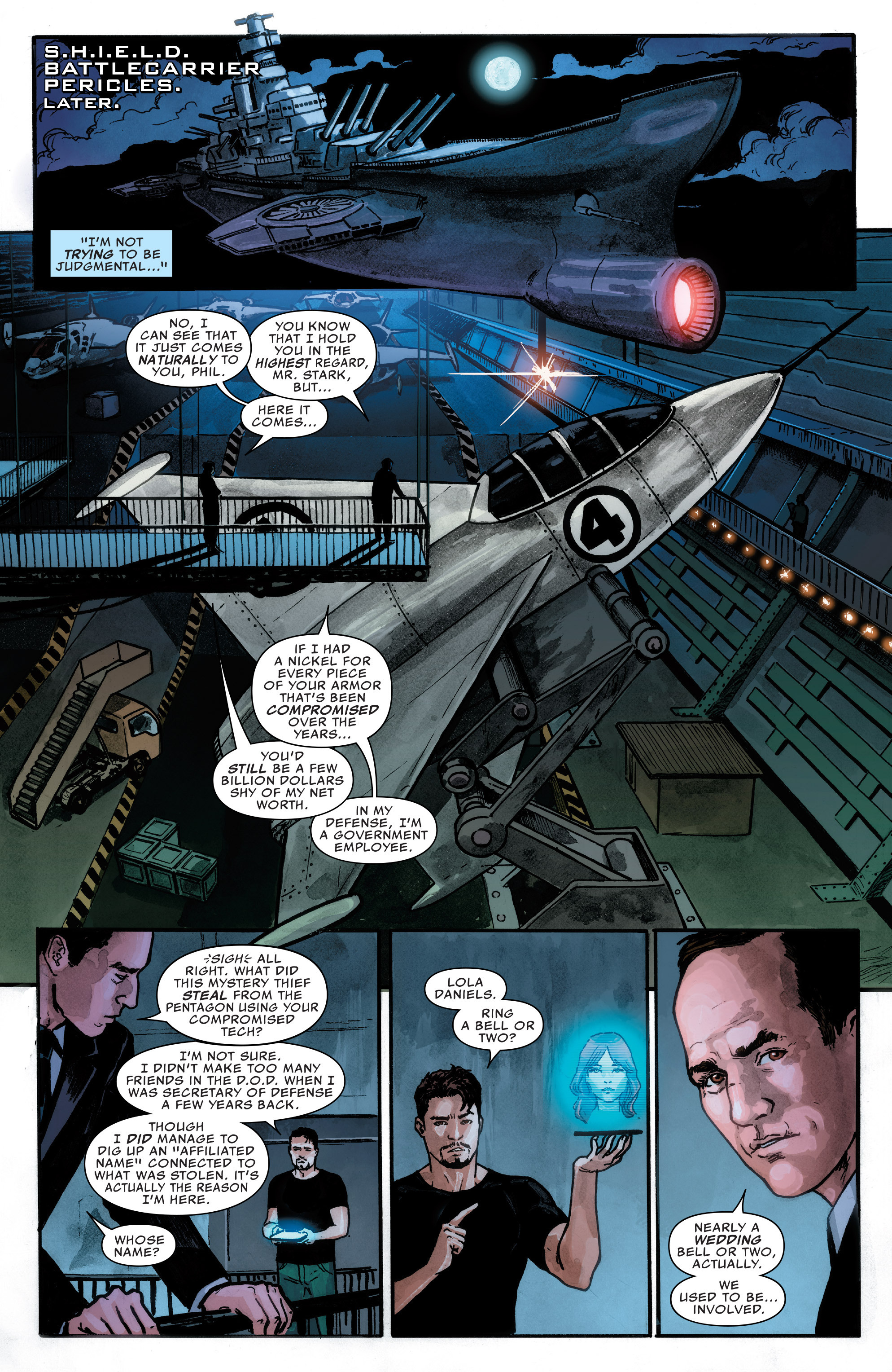 Read online Agents of S.H.I.E.L.D. comic -  Issue #1 - 12
