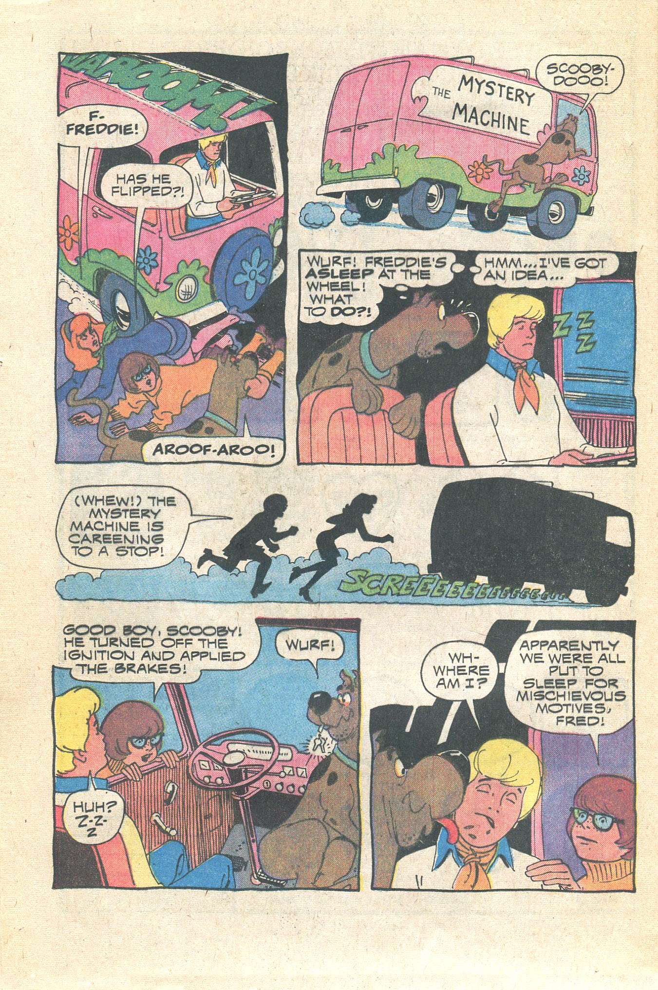 Read online Scooby-Doo... Where Are You! (1970) comic -  Issue #16 - 20