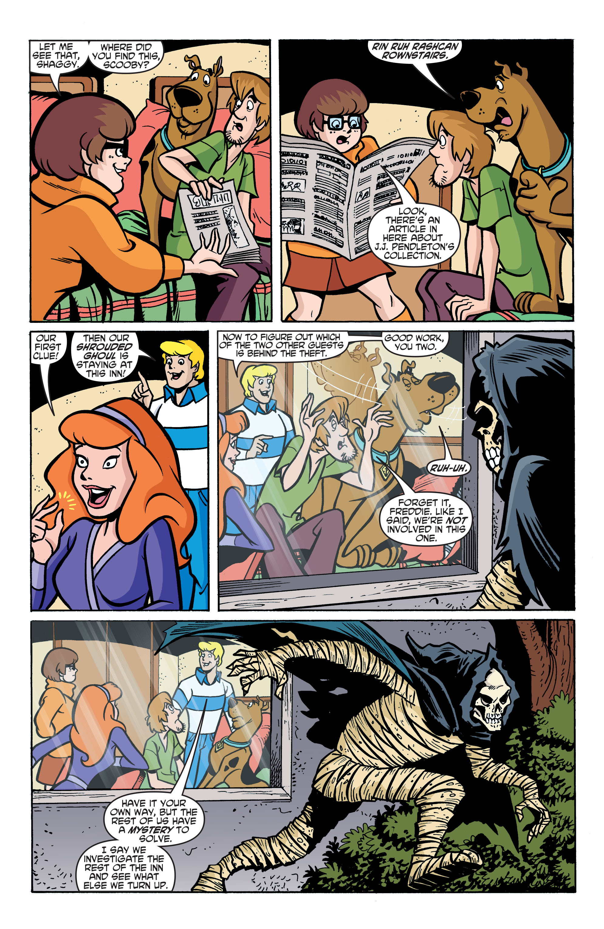 Read online Scooby-Doo: Where Are You? comic -  Issue #76 - 18