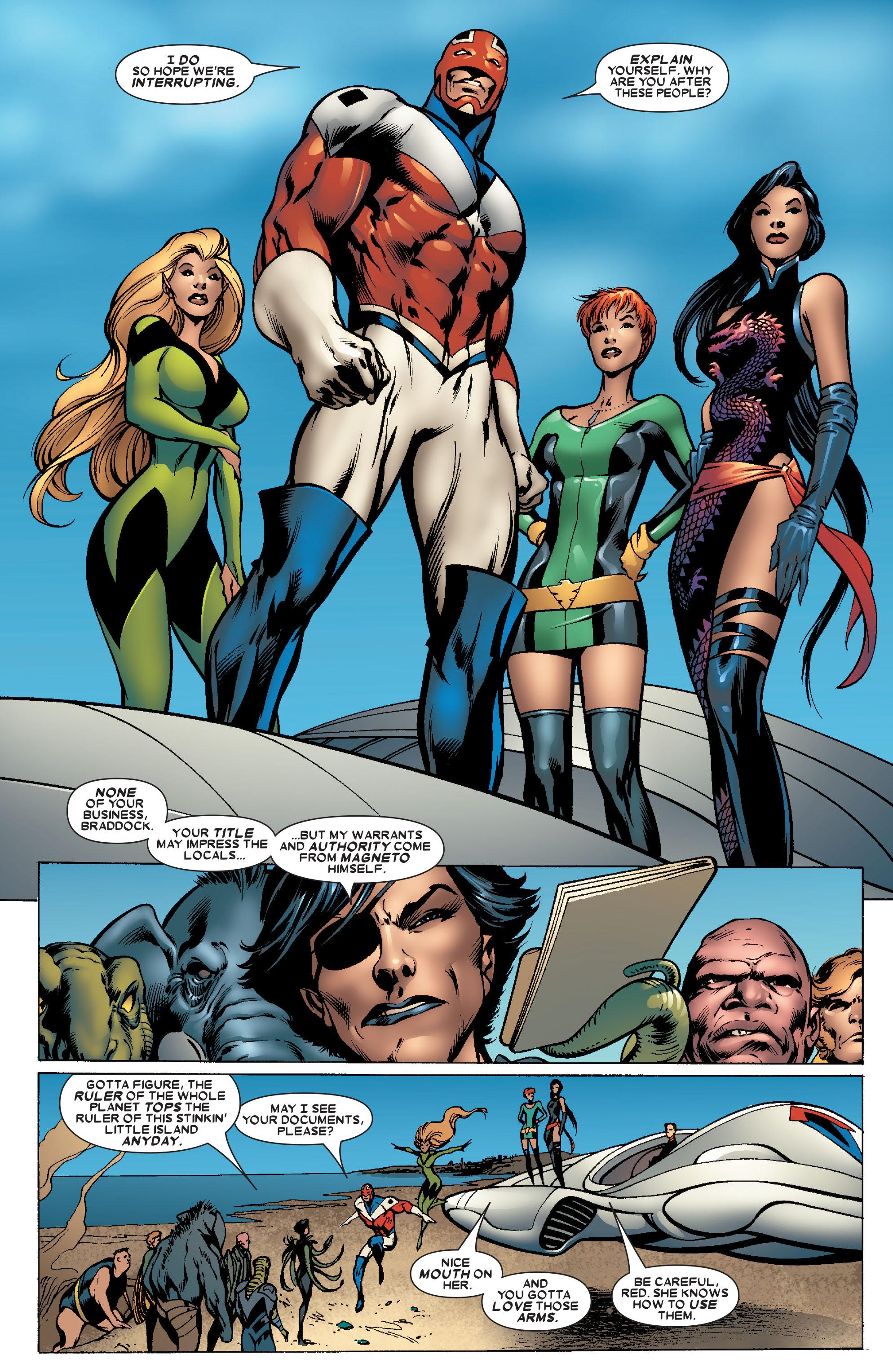 Read online Uncanny X-Men (1963) comic -  Issue #463 - 21