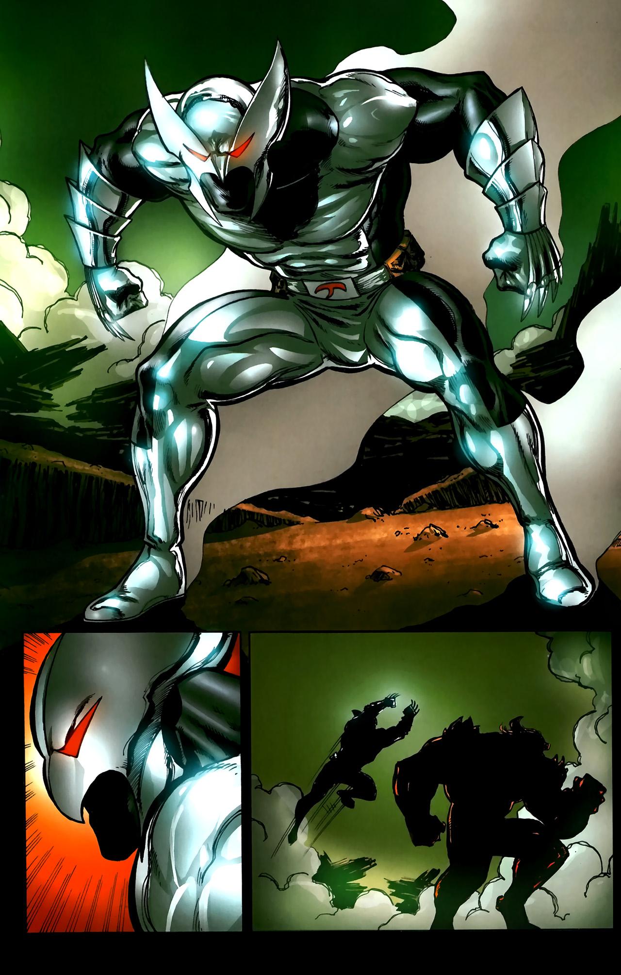 Read online ShadowHawk (2010) comic -  Issue #5 - 20