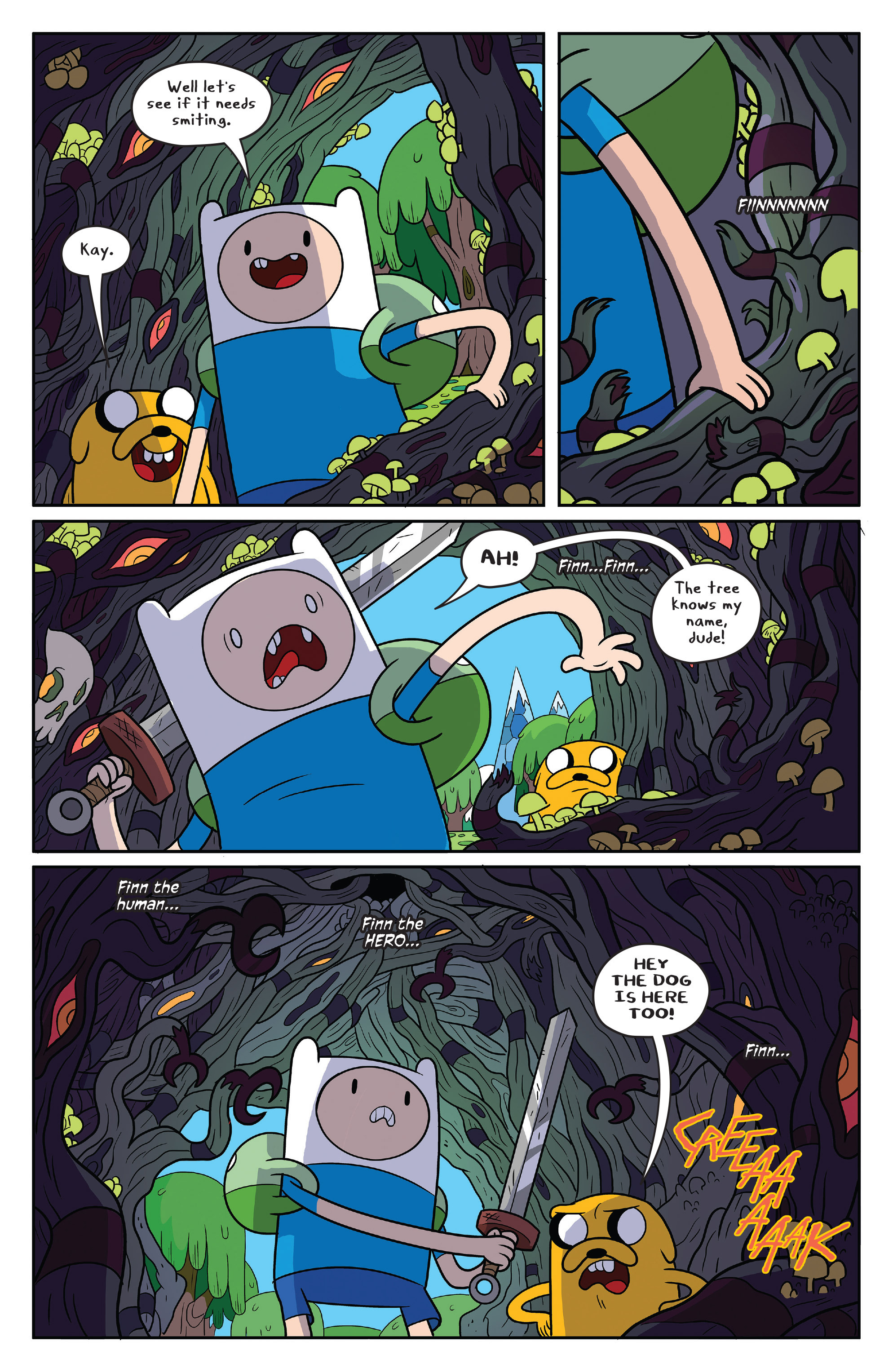 Read online Adventure Time comic -  Issue #50 - 7