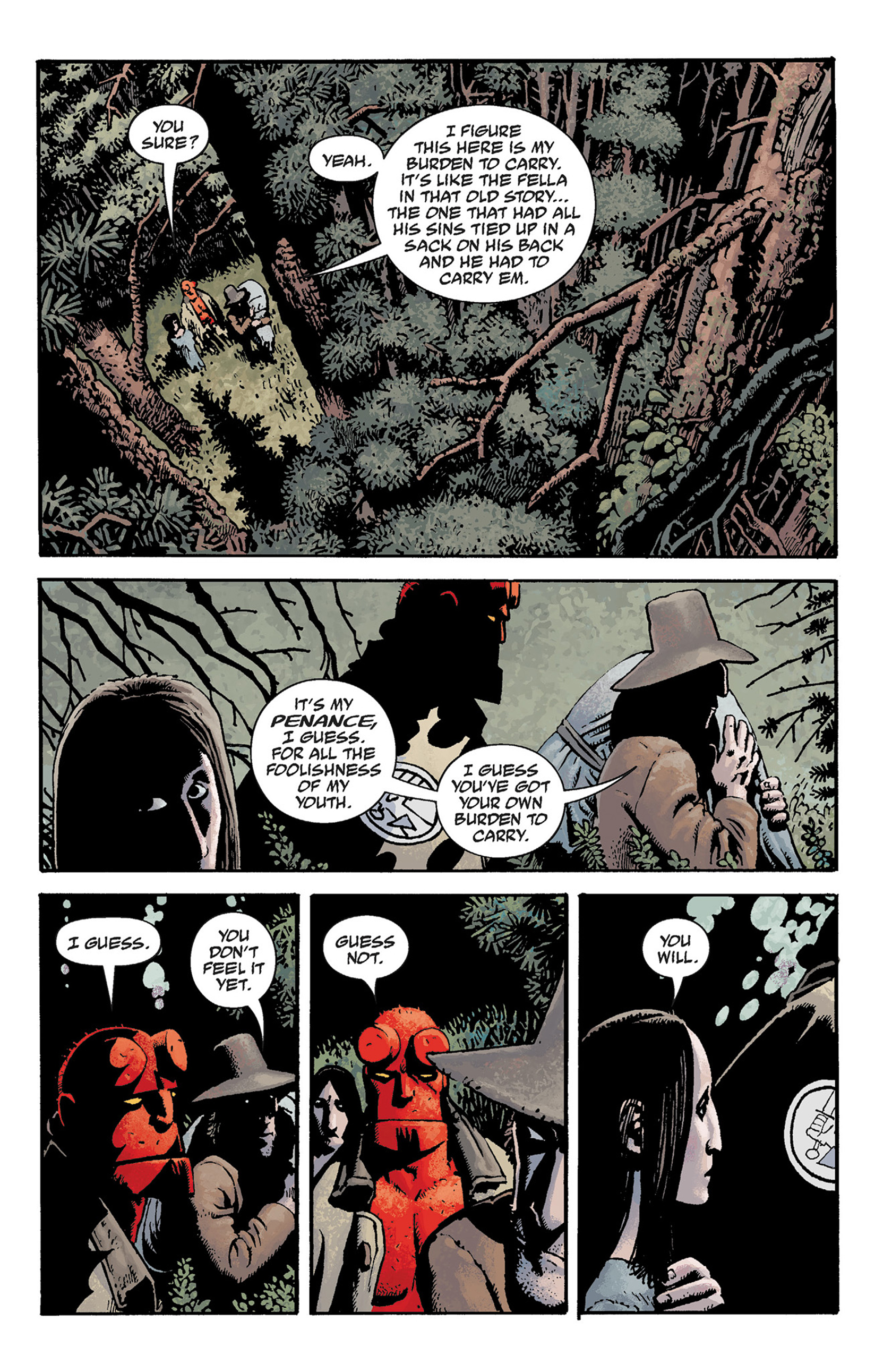Read online Hellboy: The Crooked Man and Others comic -  Issue # TPB - 35