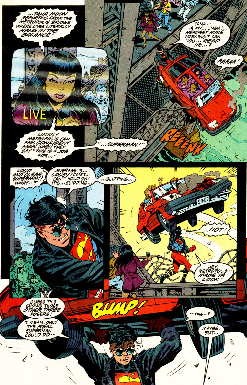 Read online Adventures of Superman (1987) comic -  Issue #502 - 2