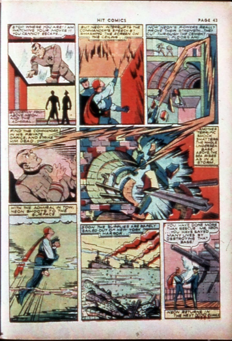 Read online Hit Comics comic -  Issue #14 - 45