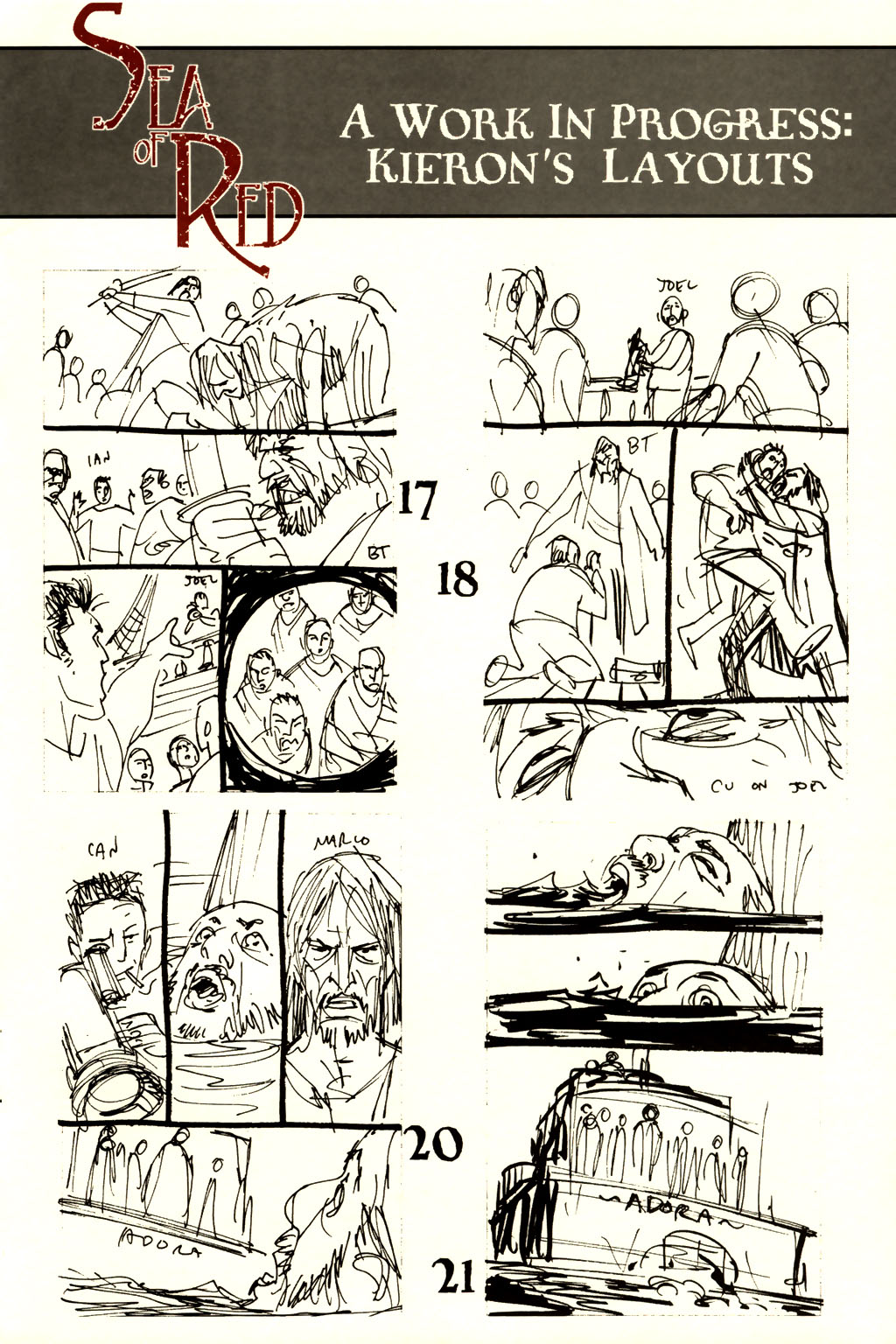 Read online Sea of Red comic -  Issue #8 - 31