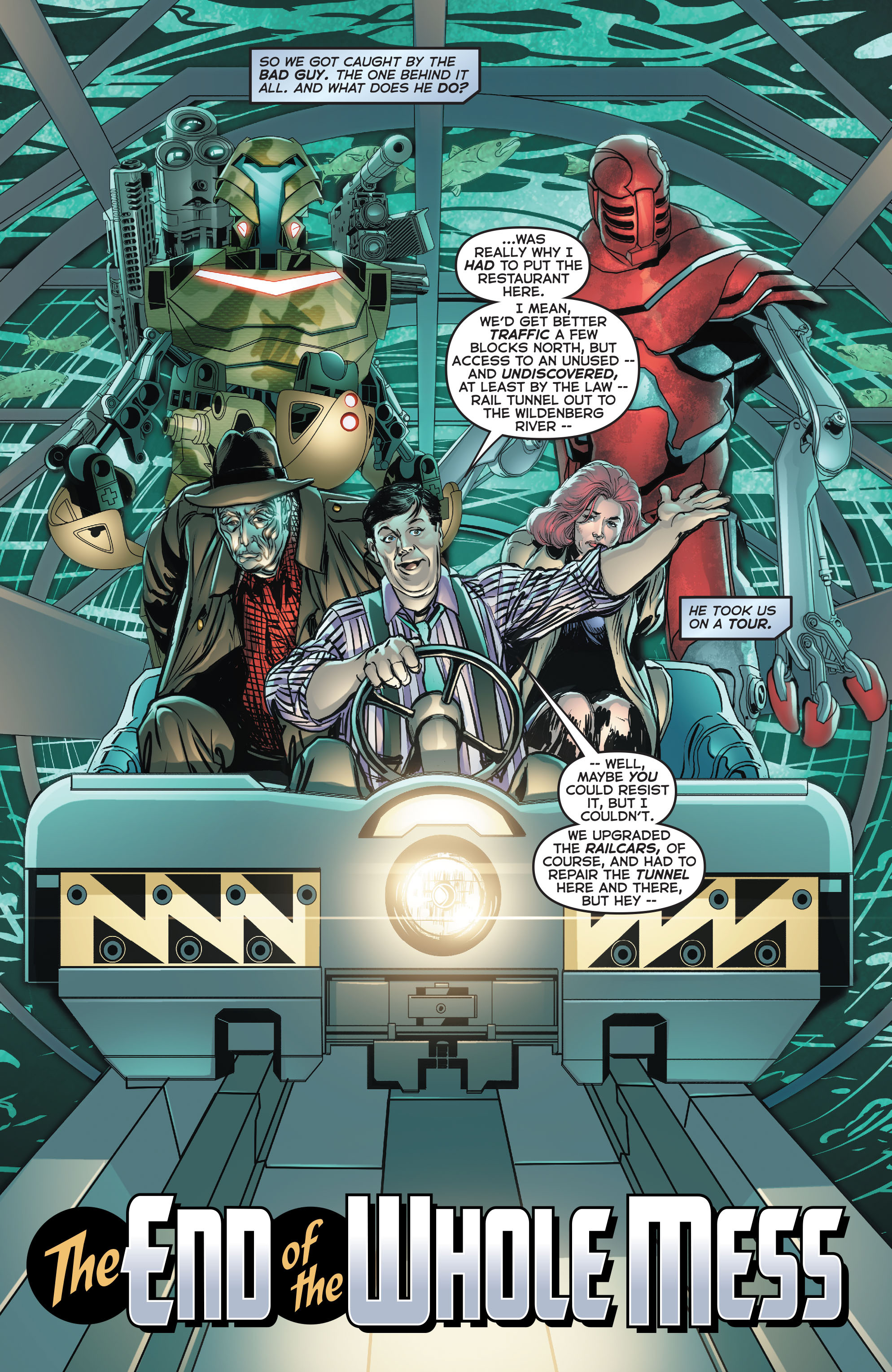 Read online Astro City comic -  Issue #34 - 2