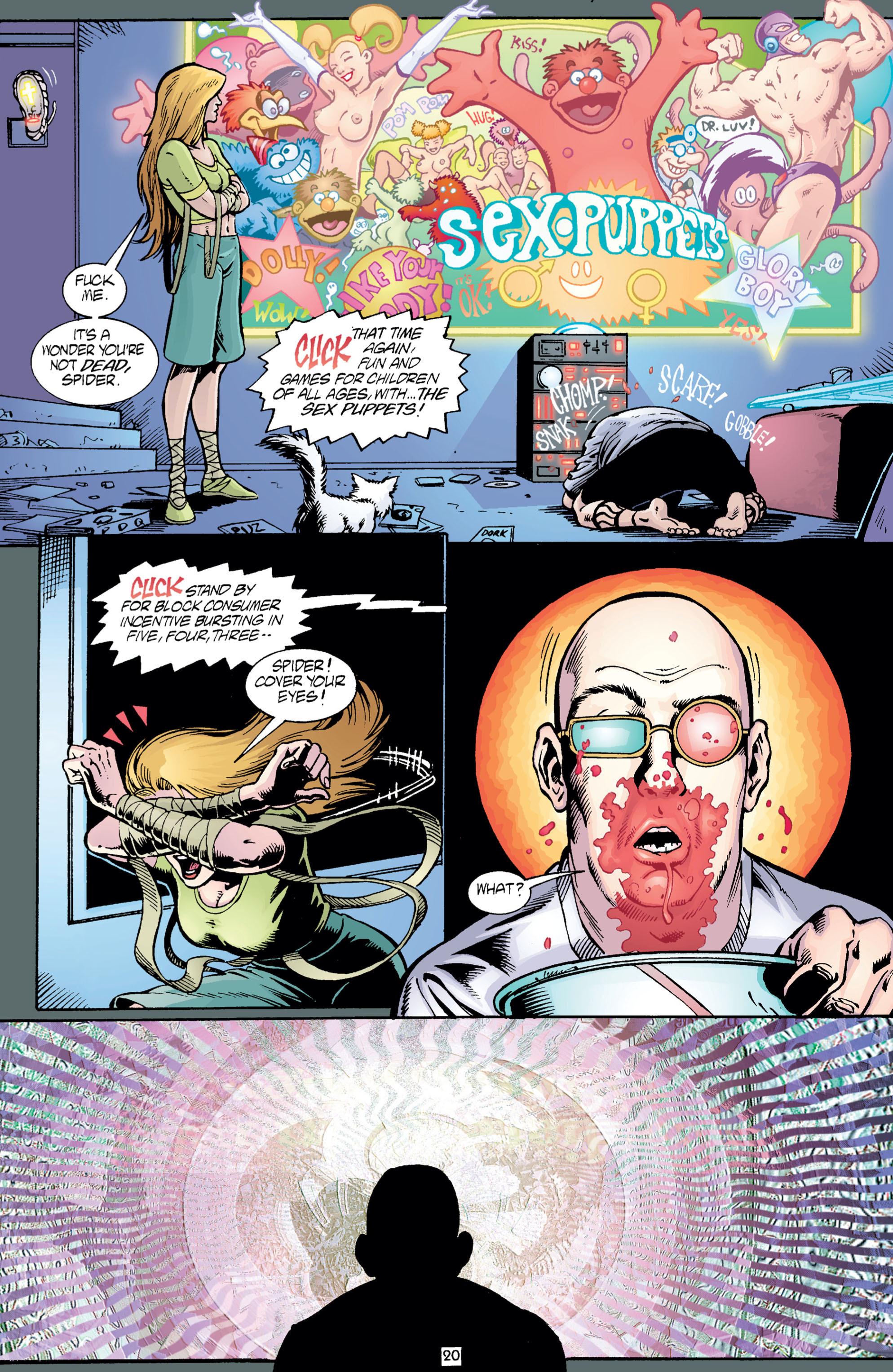Read online Transmetropolitan comic -  Issue #5 - 21