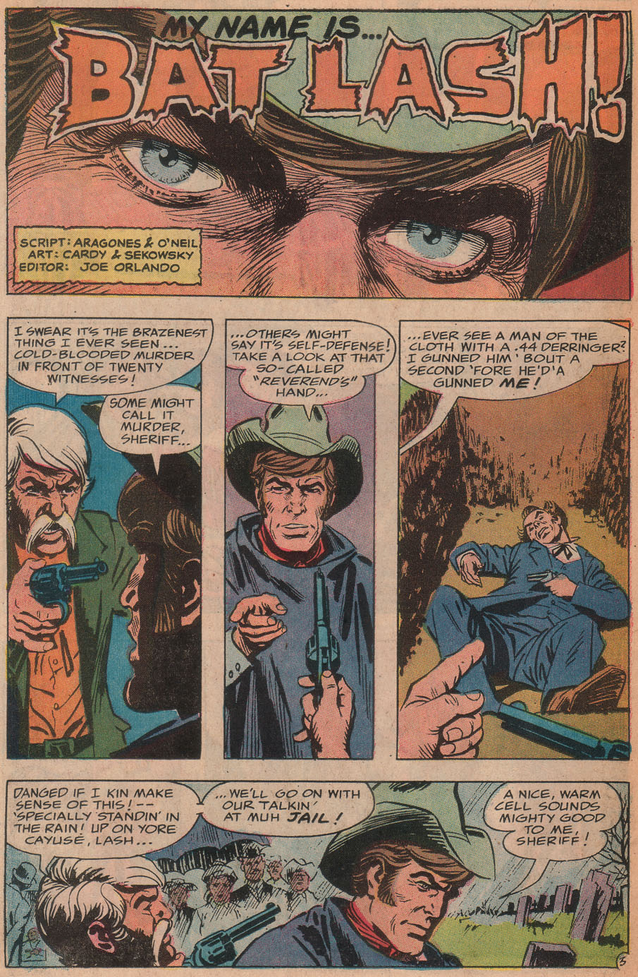 Read online All-Star Western (1970) comic -  Issue #9 - 38